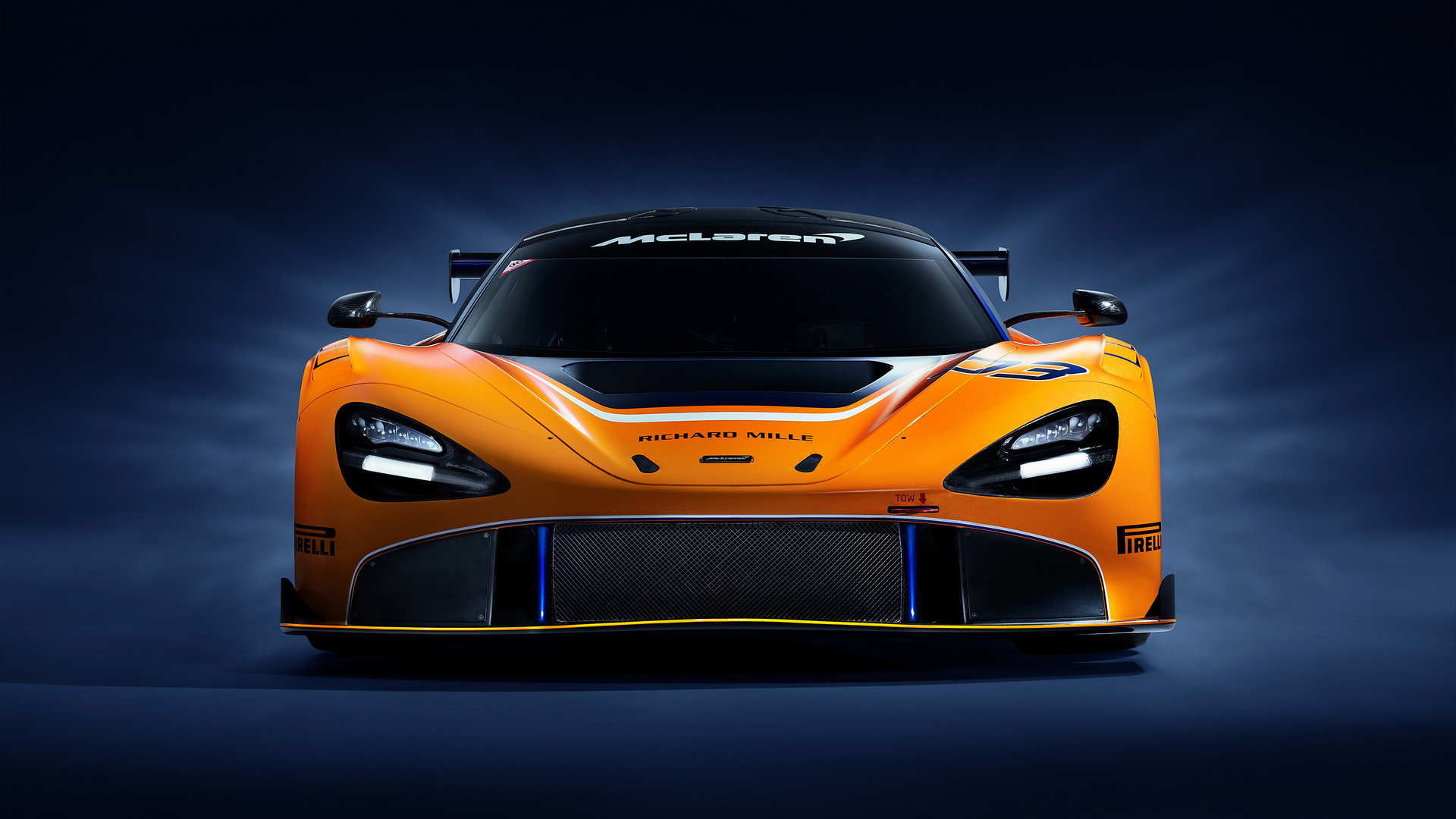 1920x1080 McLaren 720S GT3 2019 Front Laptop Full HD 1080P