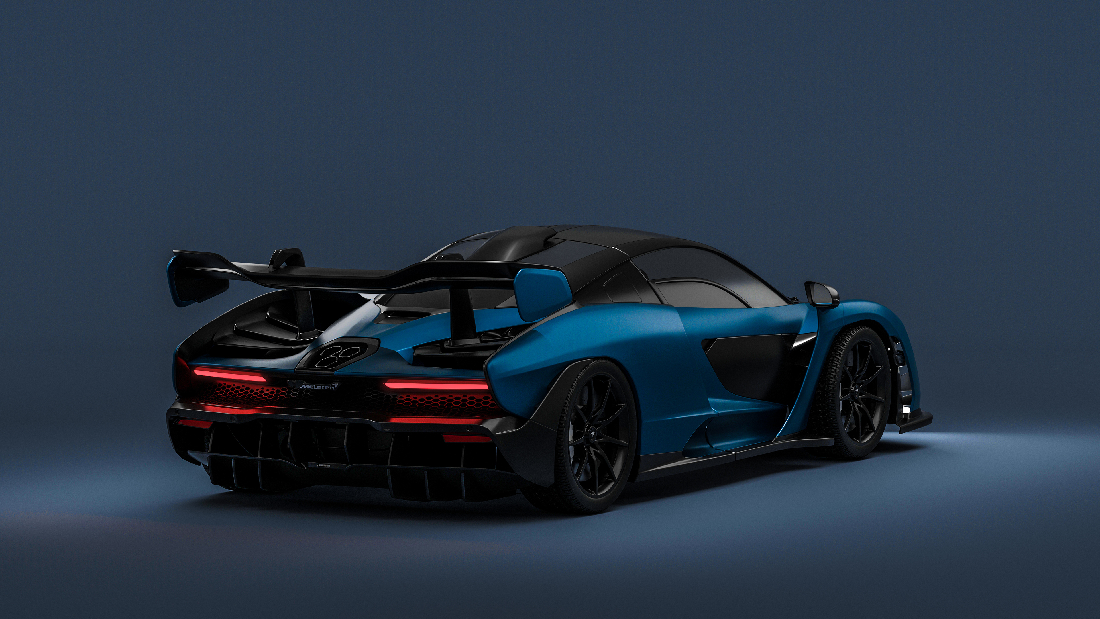 3840x2160 Mclaren Senna Rear 4K 4k HD 4k Wallpapers ...