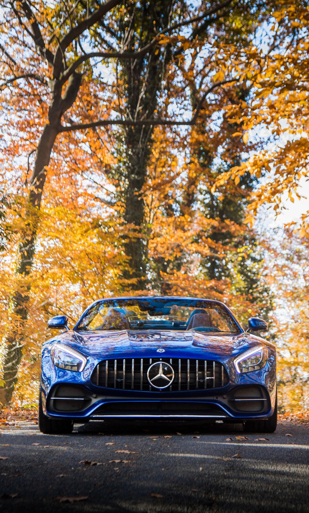 1280x2120 Mercedes AMG GT C Roadster 2018 iPhone 6+ HD 4k ...