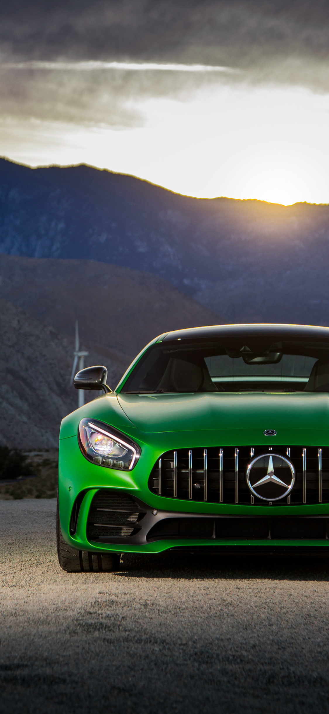 1125x2436 Mercedes Amg Gt R 2018 Iphone Xs Iphone 10 Iphone X Hd 4k