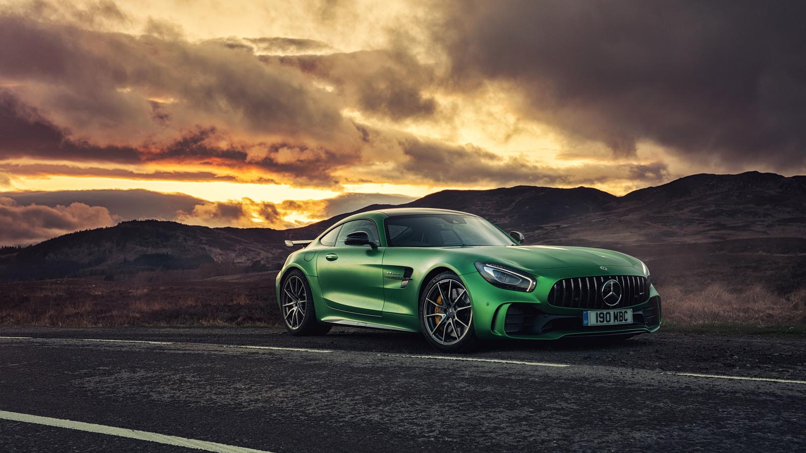1600x900 Mercedes AMG GT R C190 2017 1600x900 Resolution ...