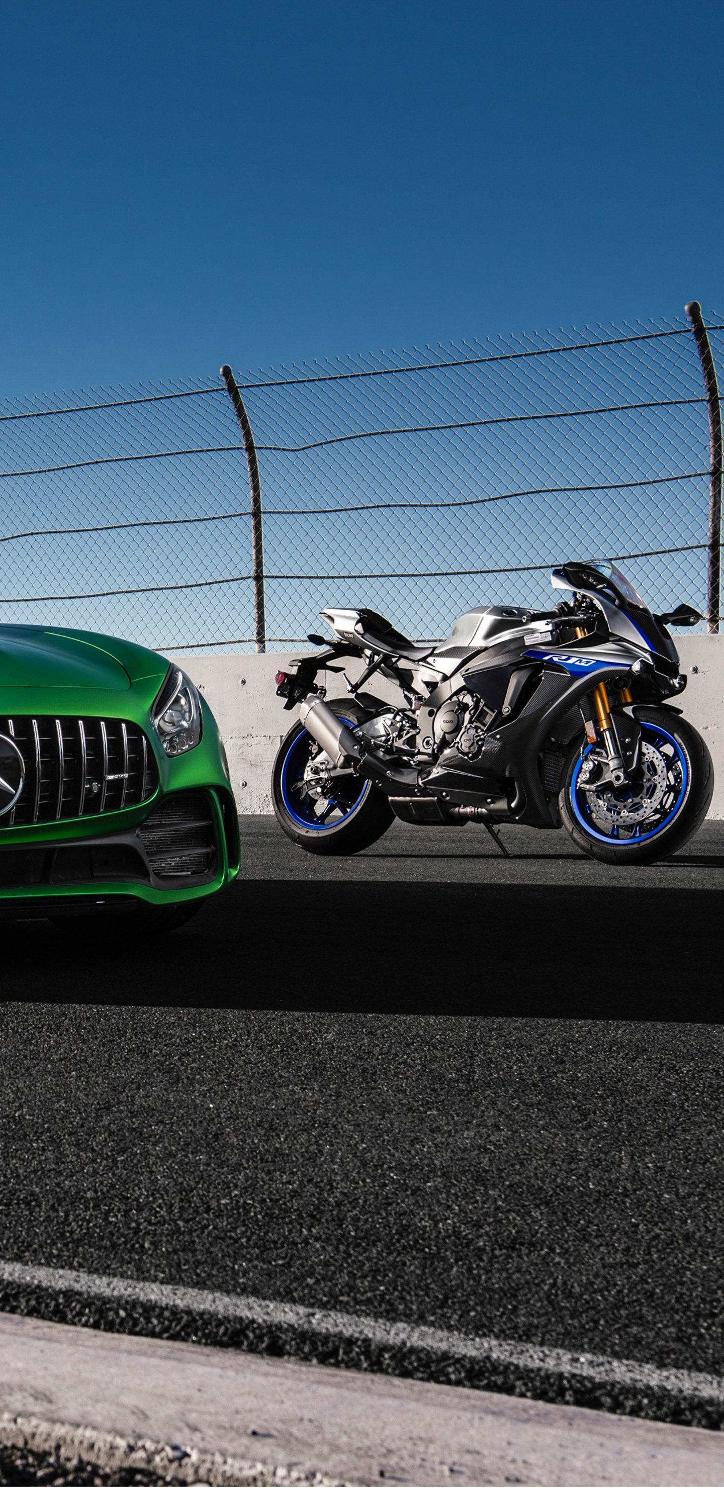 1440x2960 Mercedes Amg Gtr And Yamaha R1 Samsung Galaxy Note 9 8 S9 S8 S8 Qhd Hd 4k Wallpapers Images Backgrounds Photos And Pictures