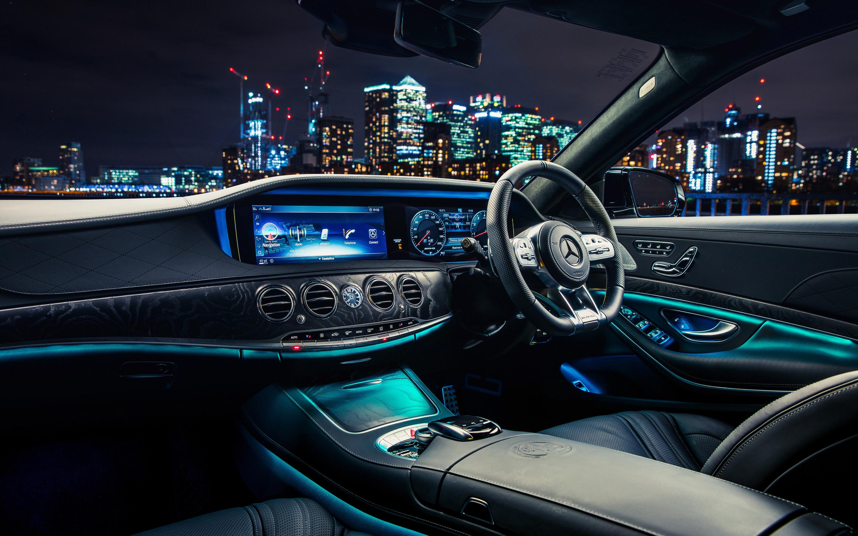 2880x1800 Mercedes Amg S 63 4matic Interior Macbook Pro Retina Hd 4k