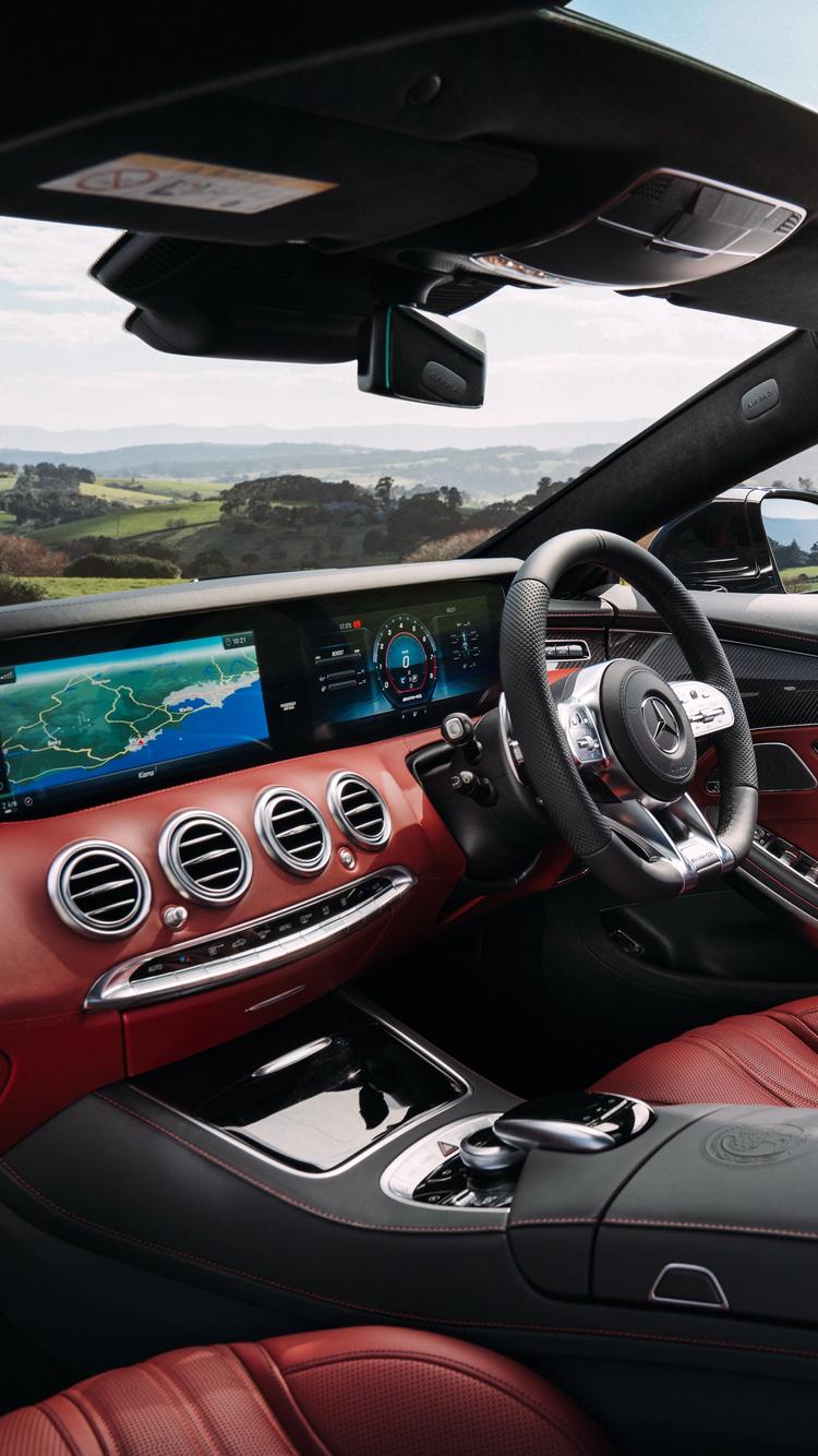 750x1334 Mercedes Amg S63 2018 Interior Iphone 6 Iphone 6s