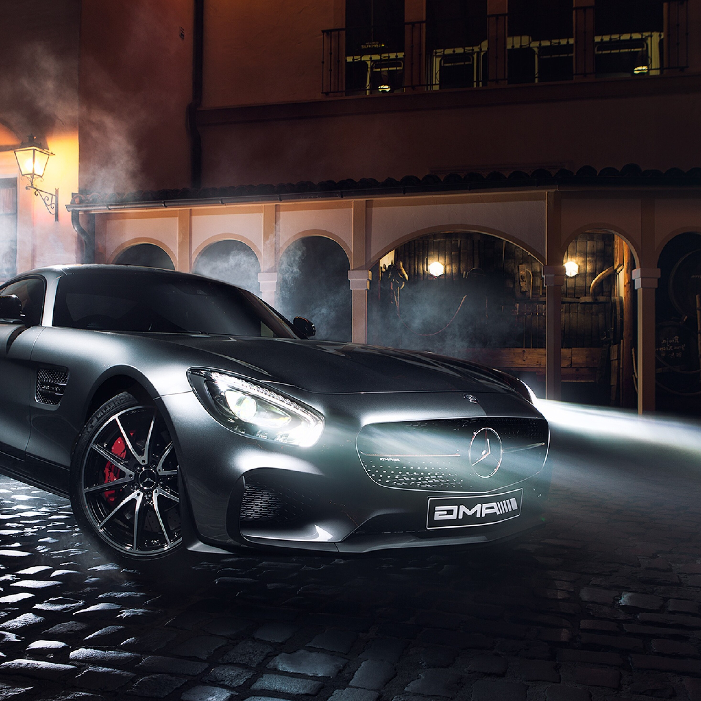 2932x2932 Mercedes Benz Amg GTS Ipad Pro Retina Display HD