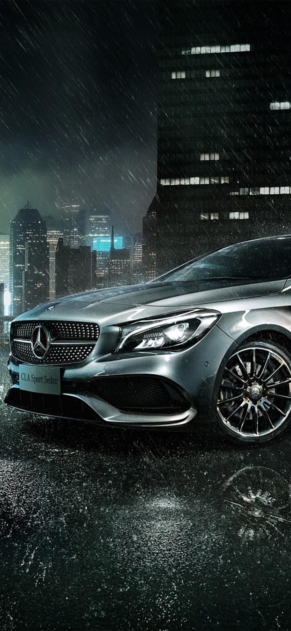 1125x2436 Mercedes Benz CLA Iphone XS,Iphone 10,Iphone X ...