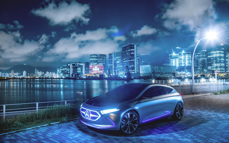 2880x1800 Mercedes Benz Concept EQA Macbook Pro Retina HD 4k ...