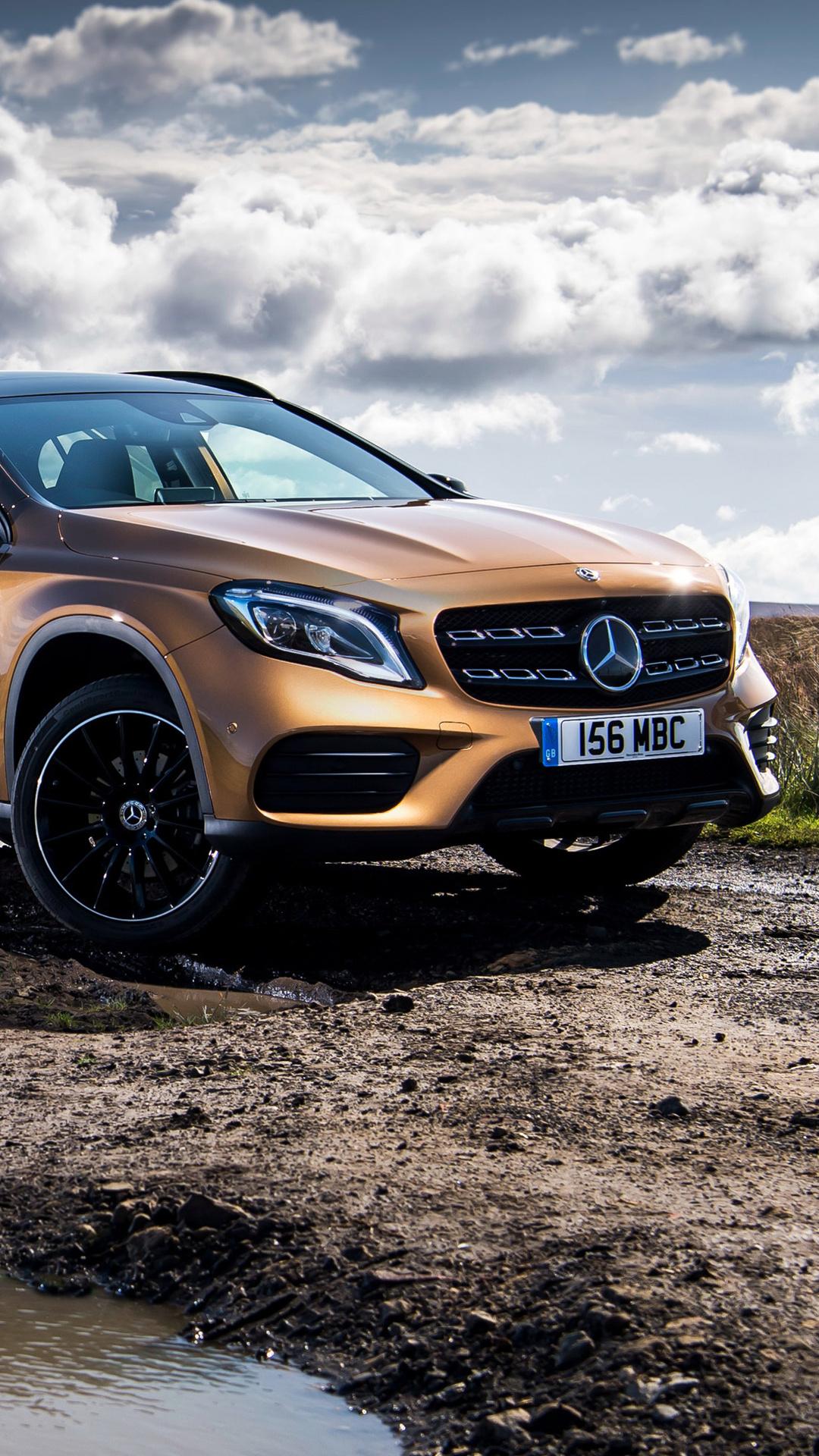 1080x1920 Mercedes Benz Gla 220 D 4matic Amg Line 2017 Iphone 7 6s