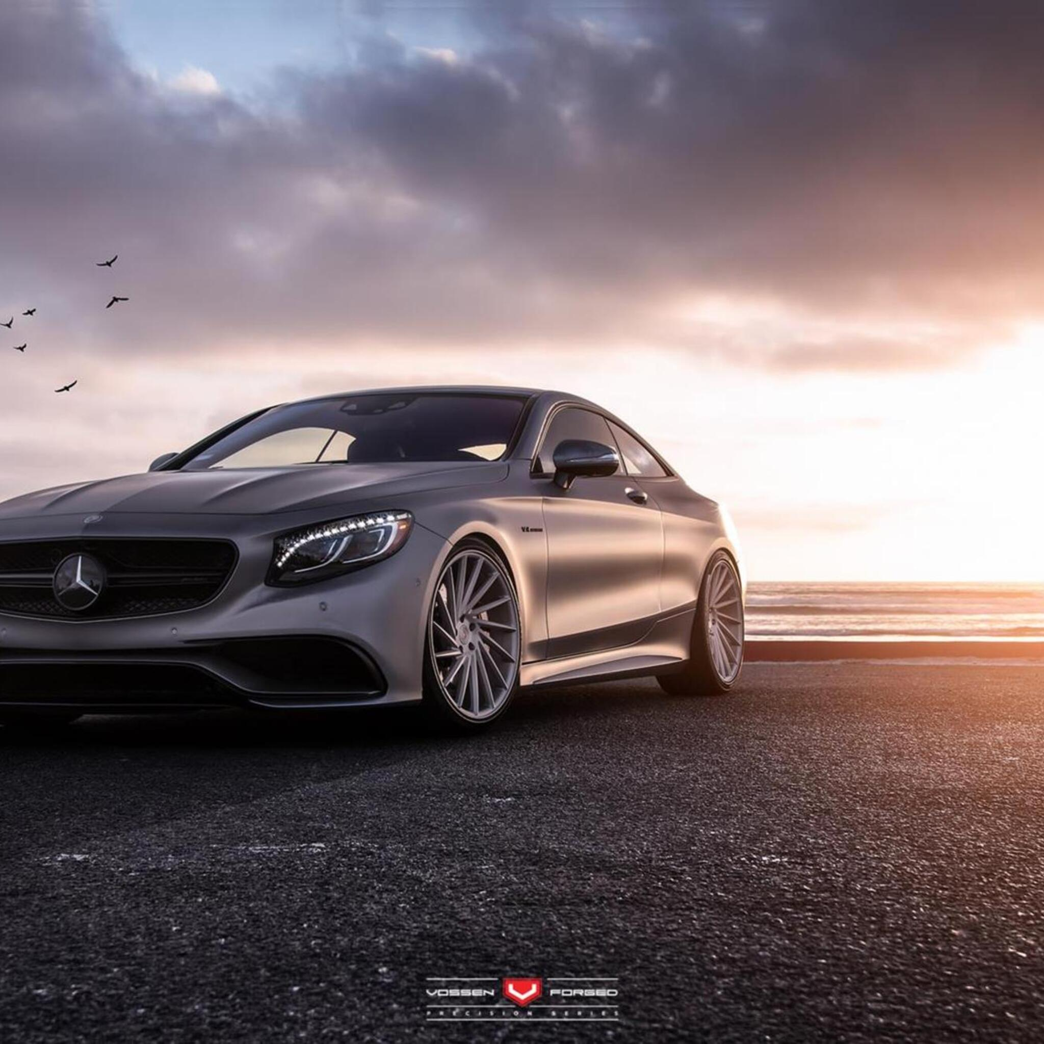 2048x2048 Mercedes Benz S Class Coupe Ipad Air HD 4k