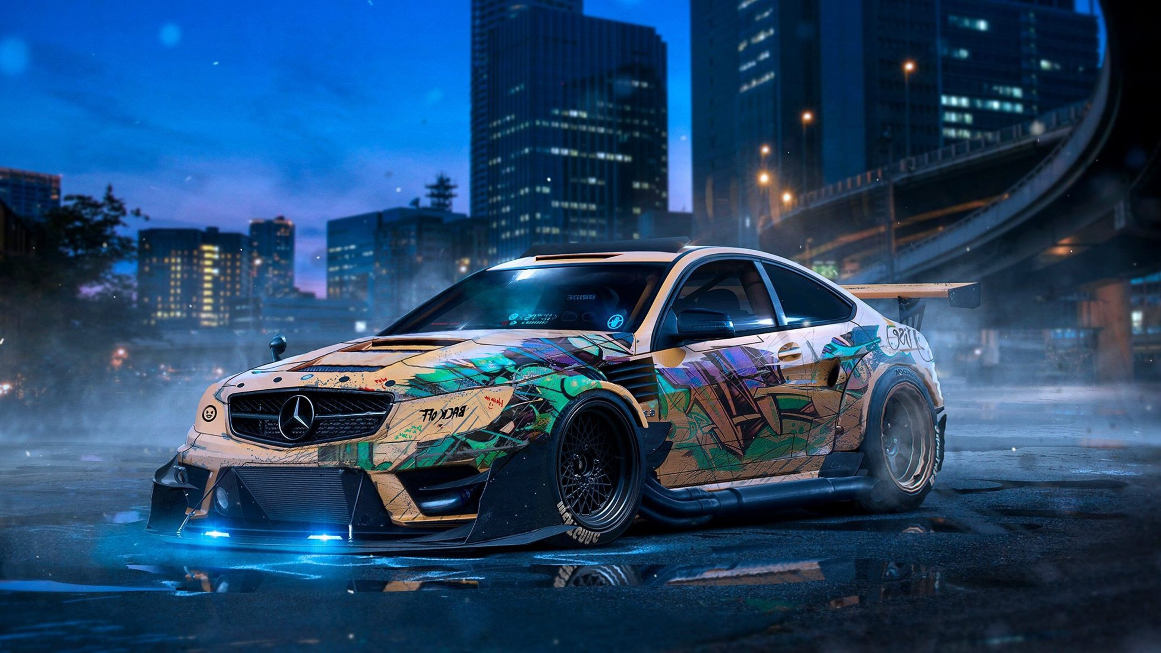 3840x2160 mercedes drift 4k hd 4k wallpapers images