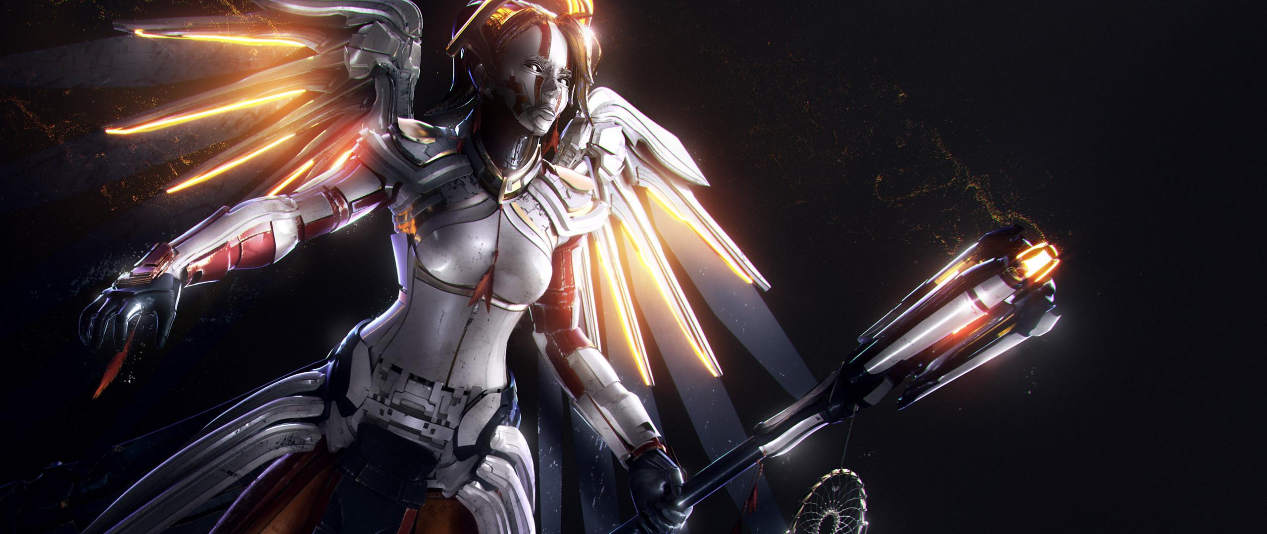 2560x1080 Final Fantasy Xv Artwork 2560x1080 Resolution Hd: 2560x1080 Mercy Overwatch Artwork Hd 2560x1080 Resolution
