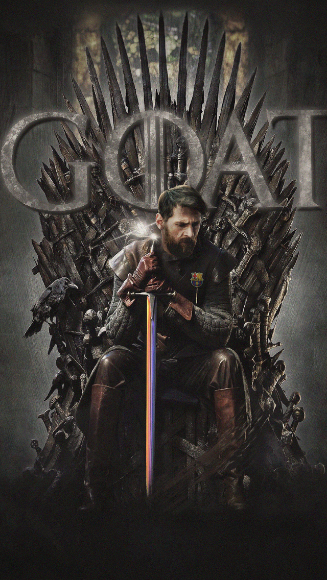 640x1136 Messi Game Of Thrones Iphone 5 5c 5s Se Ipod Touch