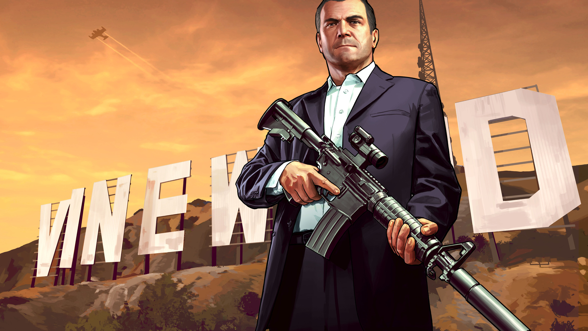 1920x1080 Michael Gta 5 5k Laptop Full Hd 1080p Hd 4k Wallpapers Images Backgrounds Photos And Pictures