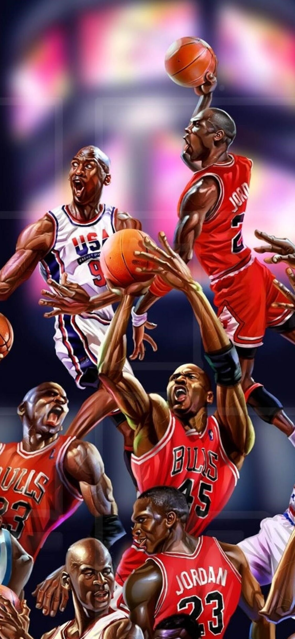 1125x2436 Michael Jordan Art Iphone XIphone 10 HD 4k Wallpapers