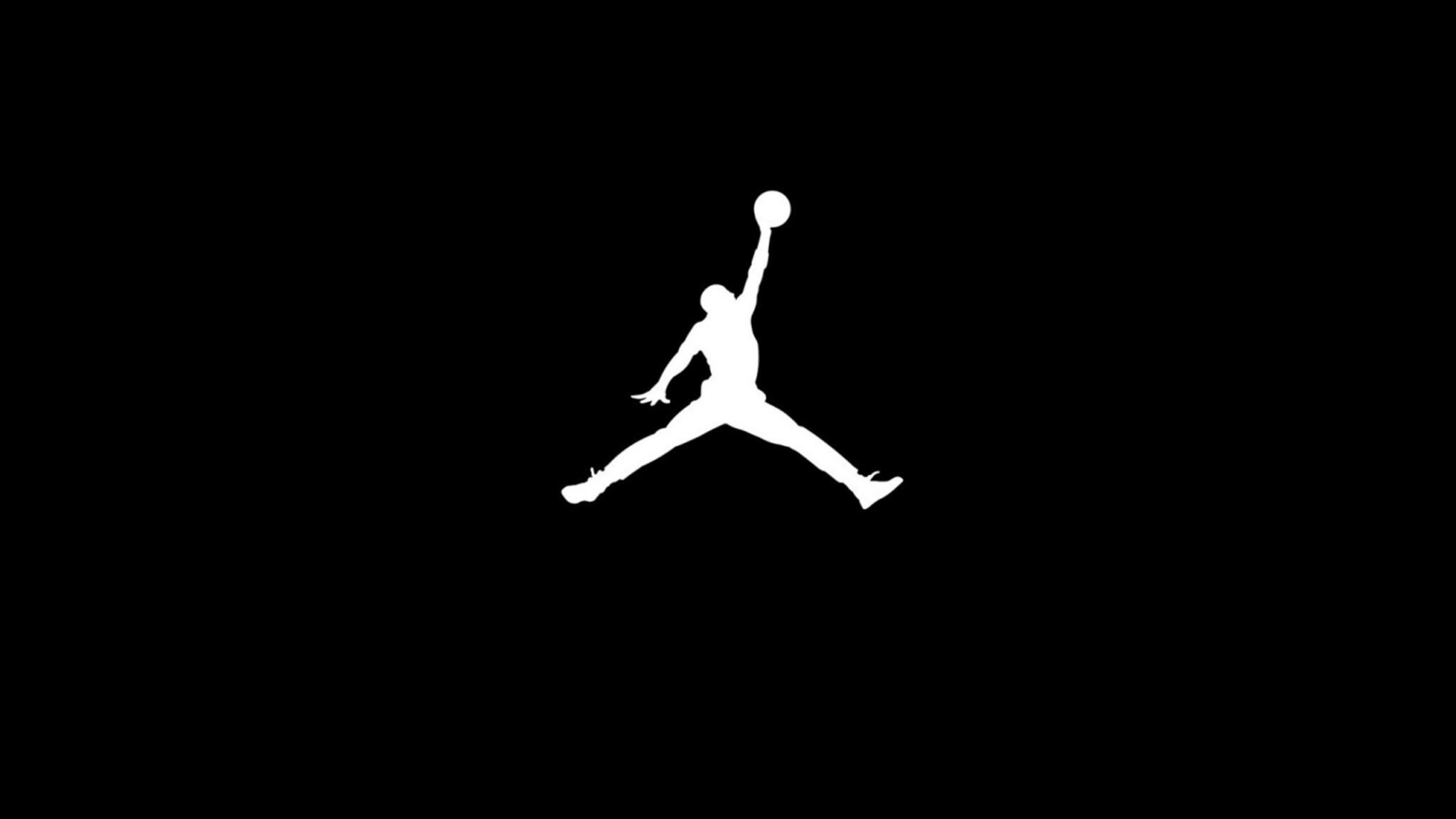 2048x1152 michael jordan 2048x1152 resolution hd 4k - Jordan jumpman logo wallpaper ...