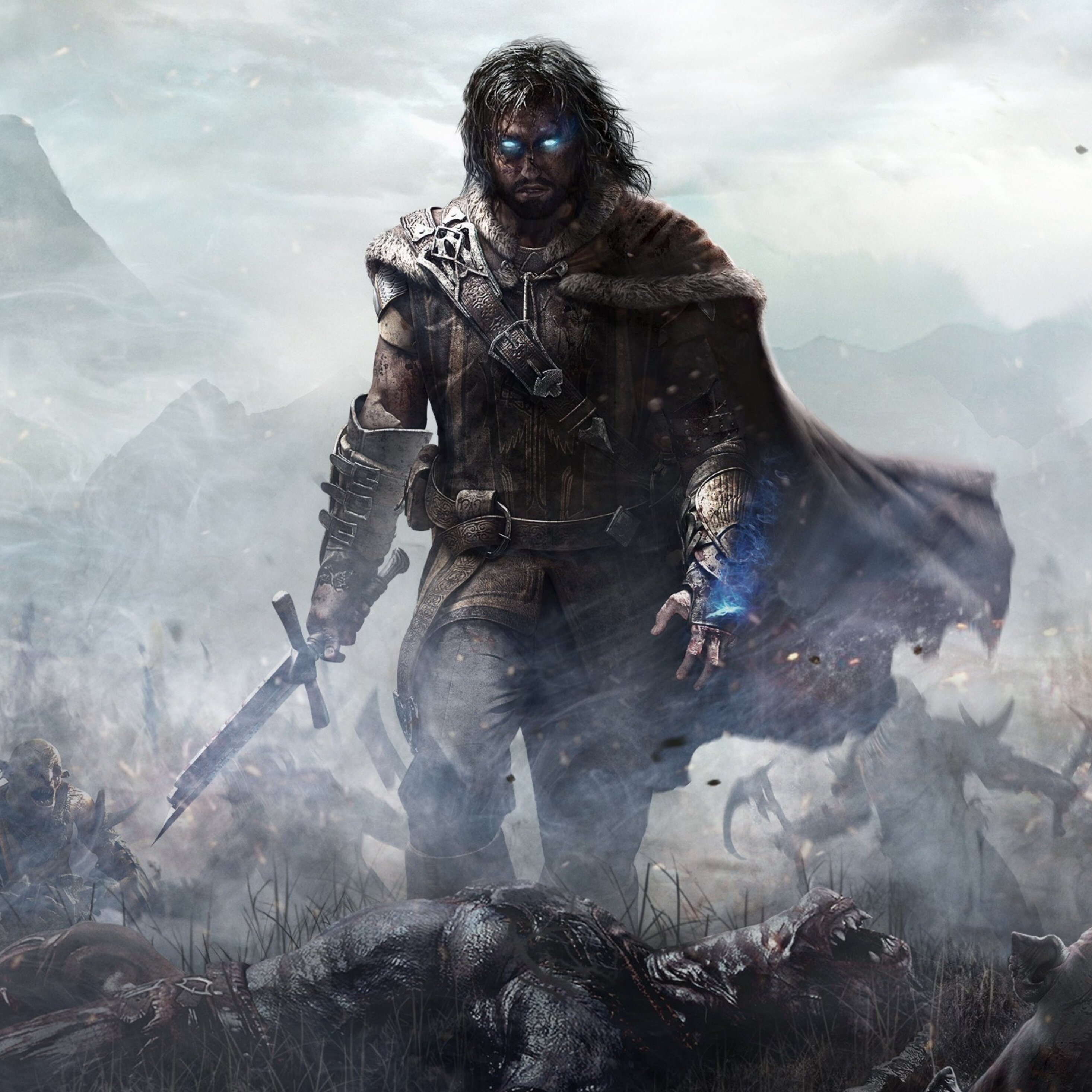 Download Wallpaper 3840x2400 Middle-earth shadow of mordor, The ...