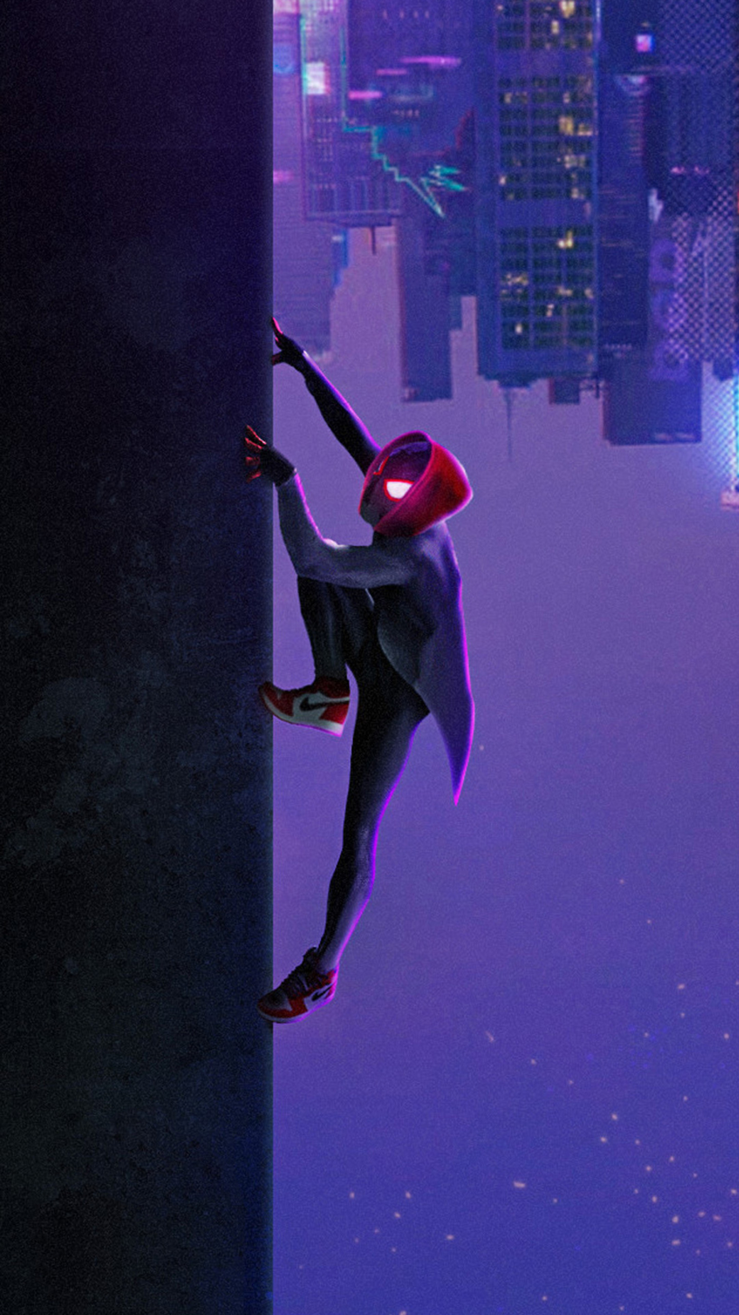 1440x2560 Miles Morales In Spider Man Into The Spider Verse Movie
