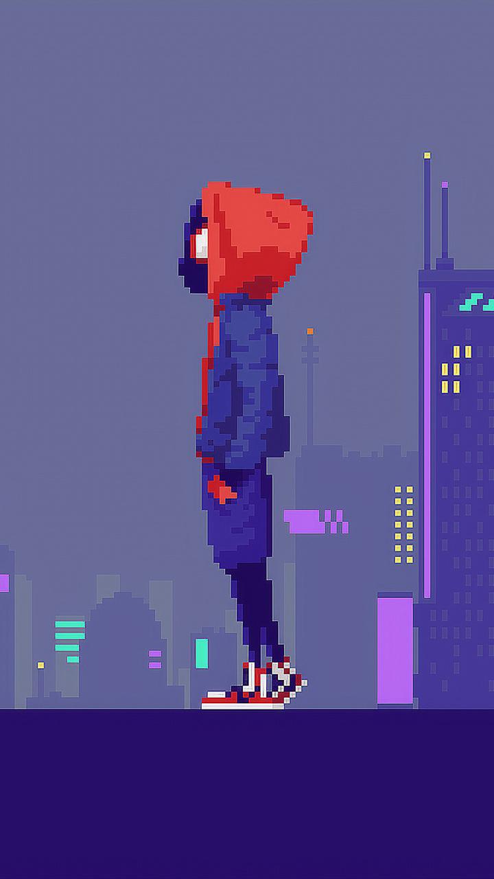 Pixel Art Moto Gamboahinestrosa