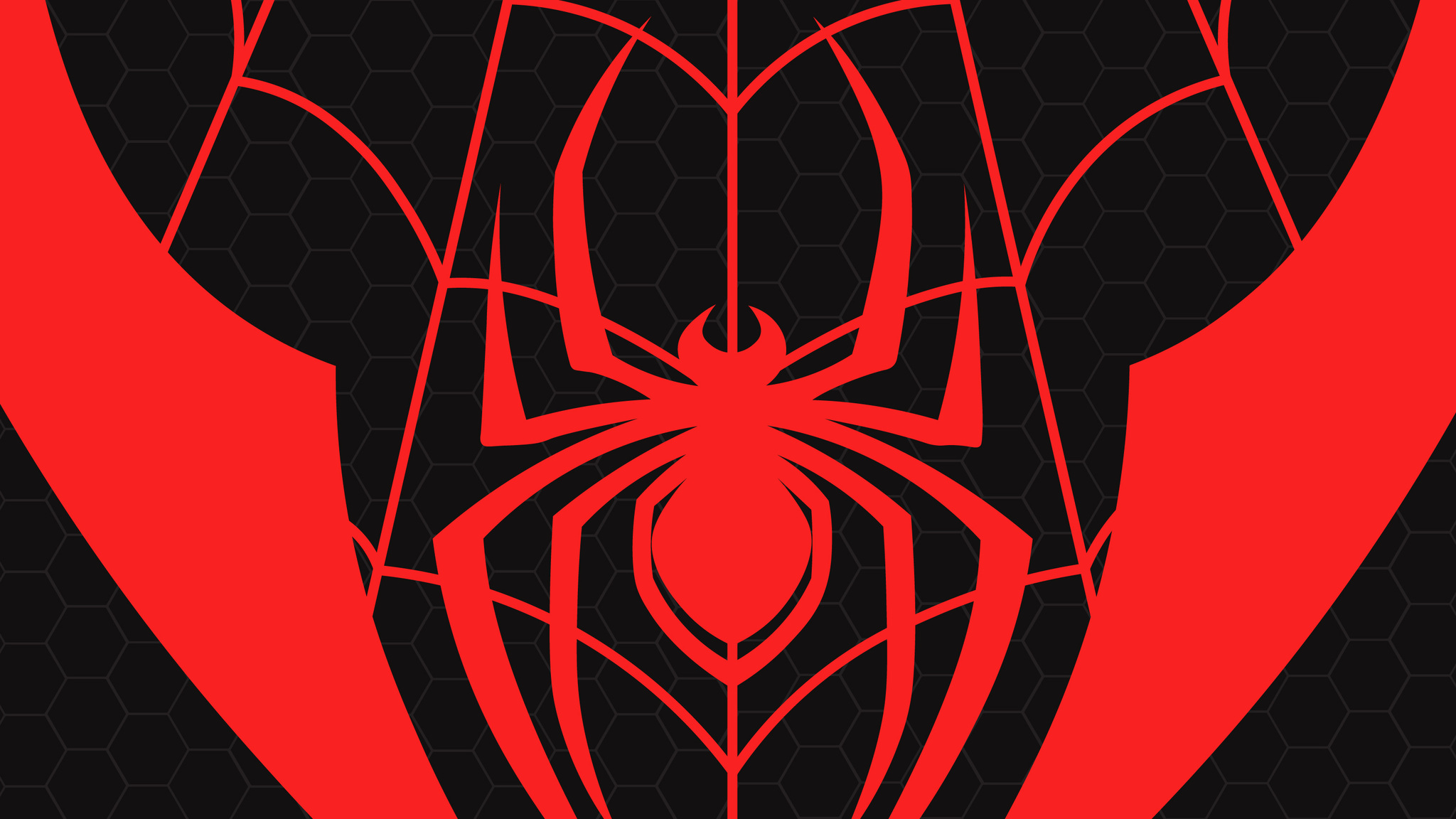 2048x1152 Miles Morales Spiderman Logo 2048x1152 Resolution
