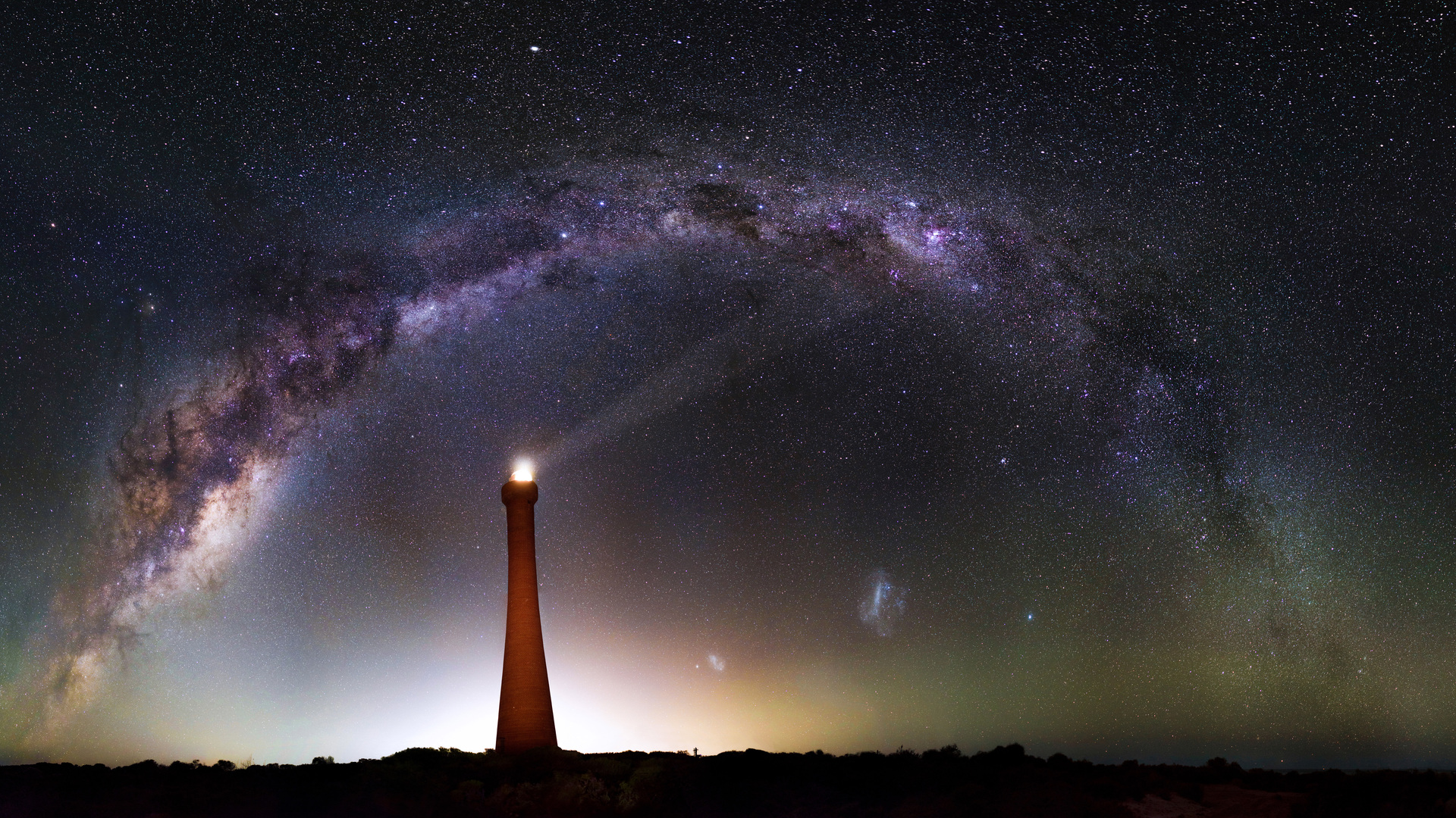 Most Inspiring Wallpaper Night Lighthouse - milky-way-over-lighthouse-5k-4c-1920x1080  Image-972924.jpg