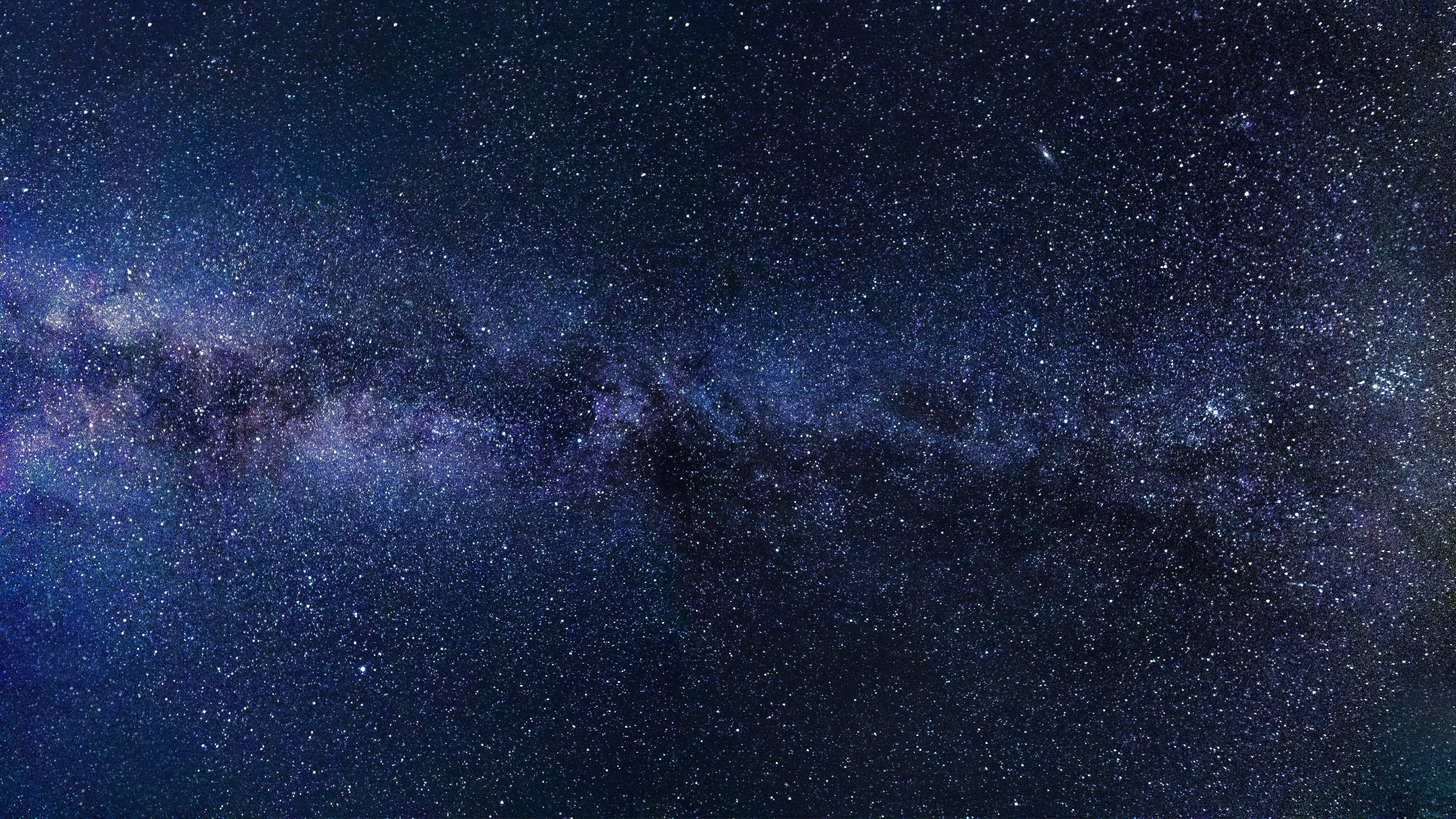 5120x2880 milky way starry sky night 5k 5k hd 4k - Starry sky 4k ...