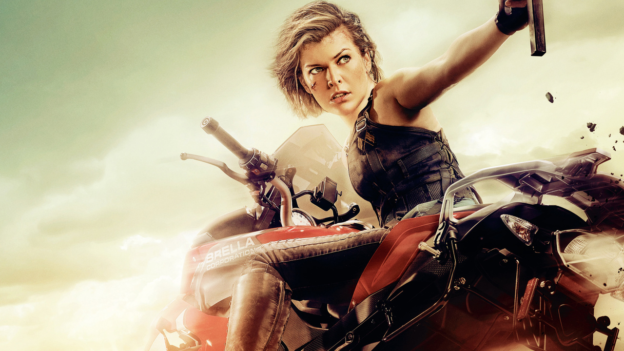 Milla Jovovich Ruby Rose Resident Evil The Final Chapter: 1280x720 Milla Jovovich In Resident Evil The Final Chapter