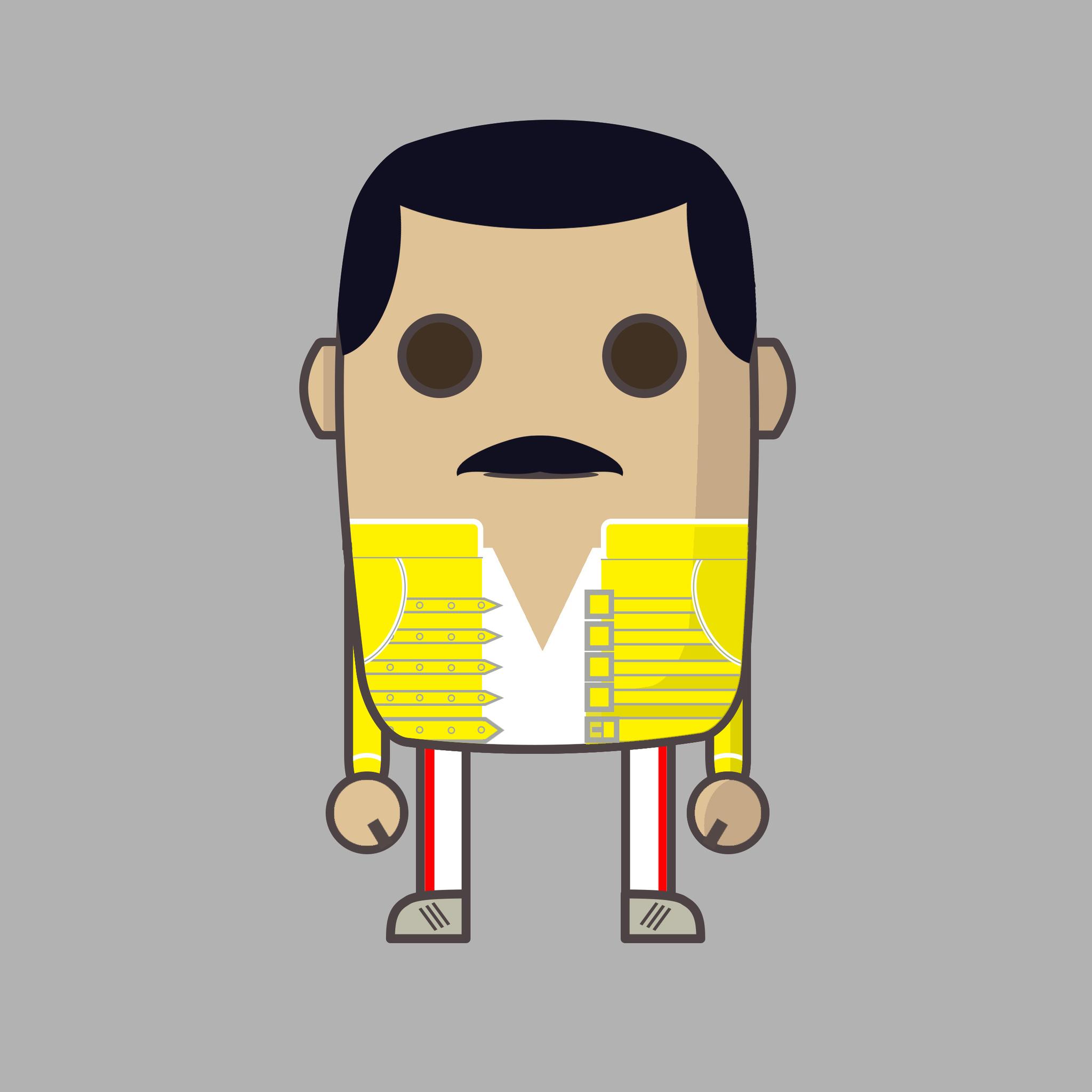 2048x2048 Mime Freddie Mercury Ipad Air Hd 4k Wallpapers