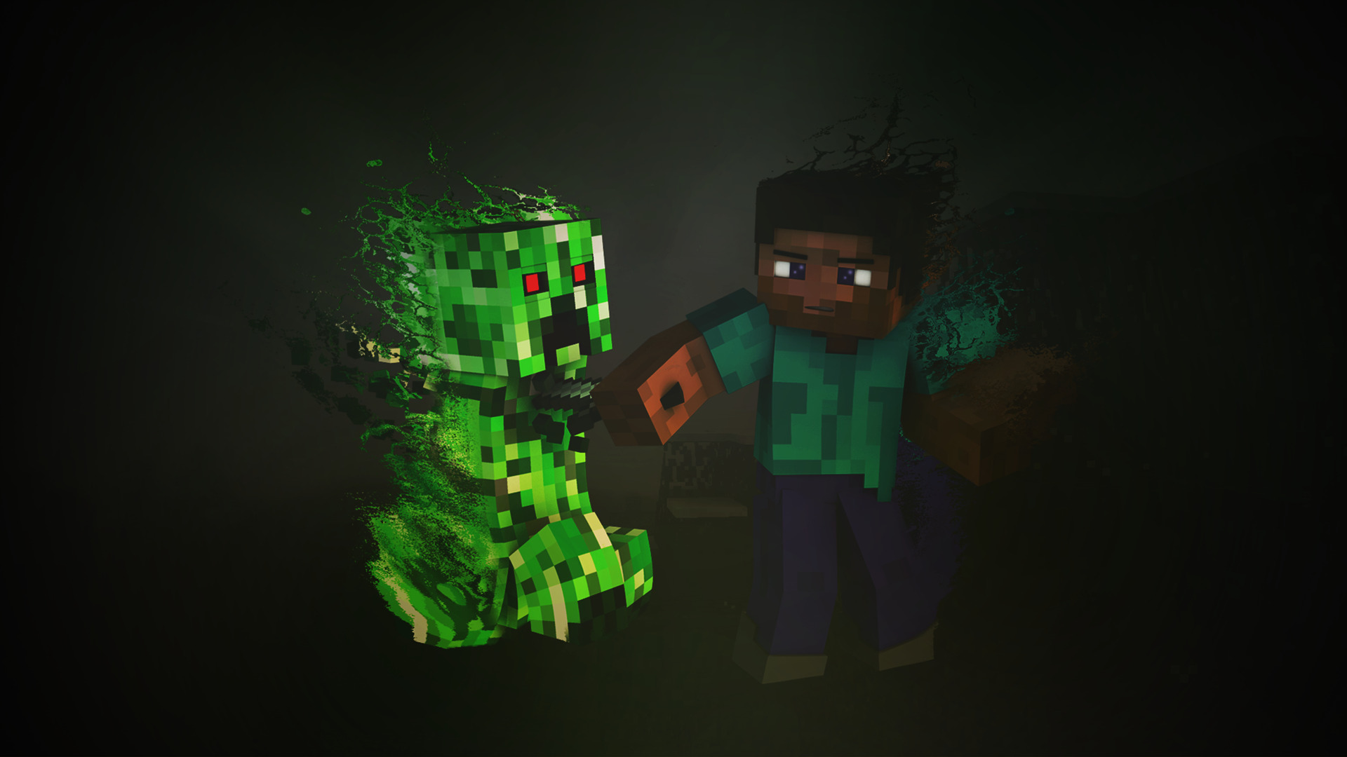 1920x1080 Minecraft Creeper Laptop Full HD 1080P 4k Wallpapers