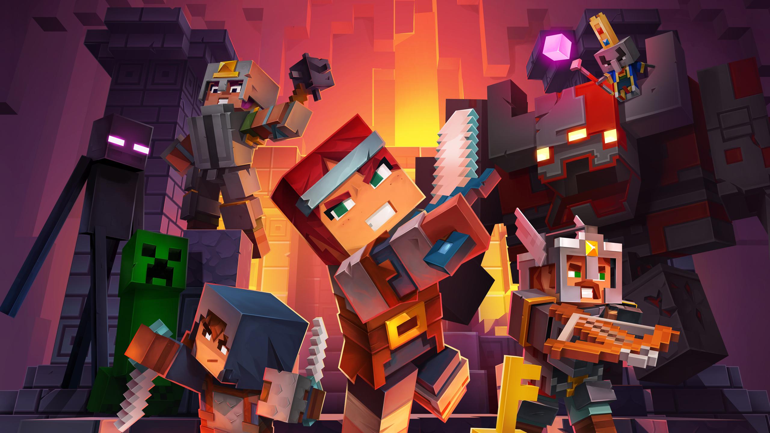 2560x1440 Minecraft Dungeons 5k 1440p Resolution Hd 4k