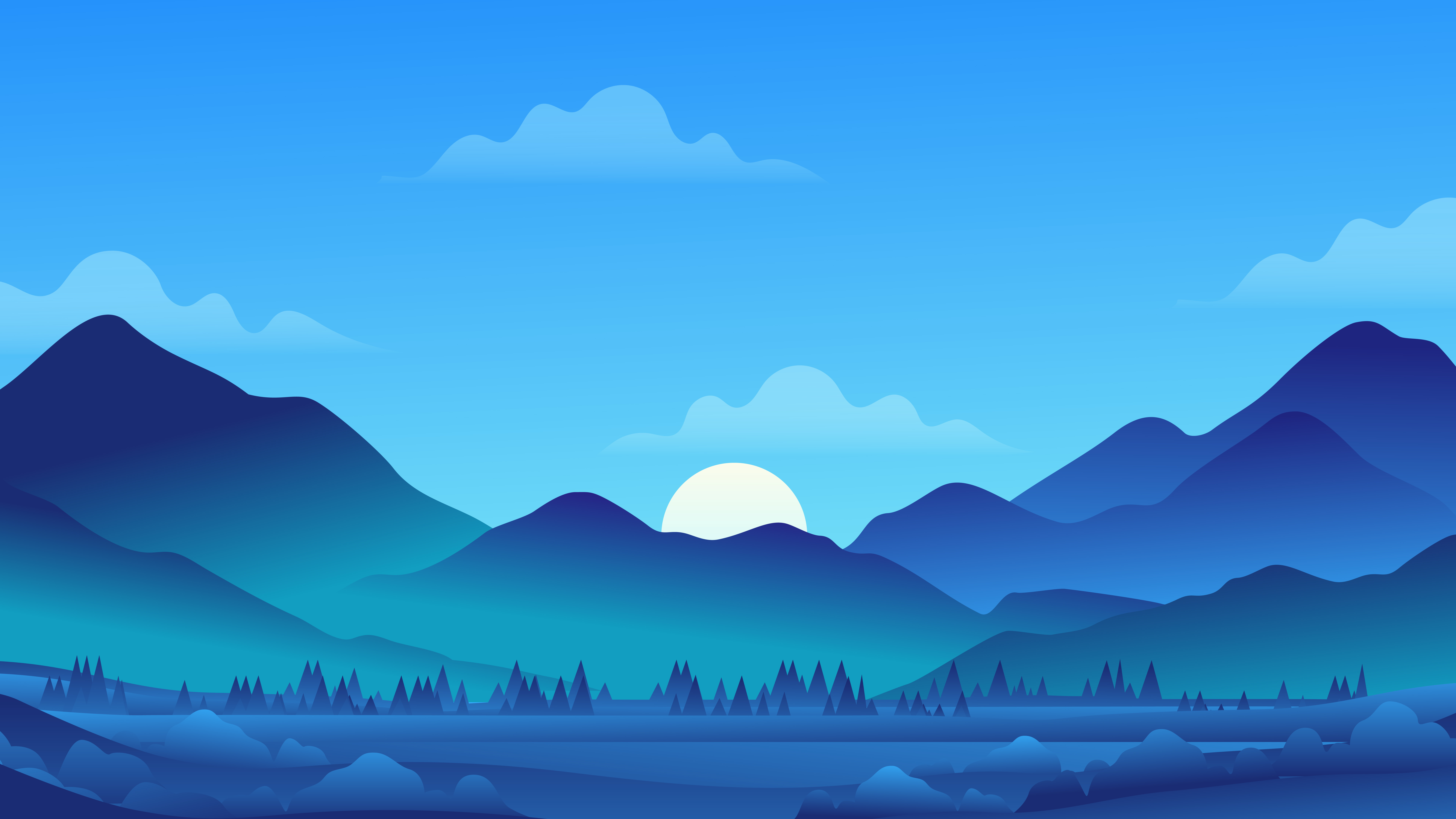 7680x4320 Minimal Morning Landscape 8k 8k Hd 4k Wallpapers Images Backgrounds Photos And Pictures