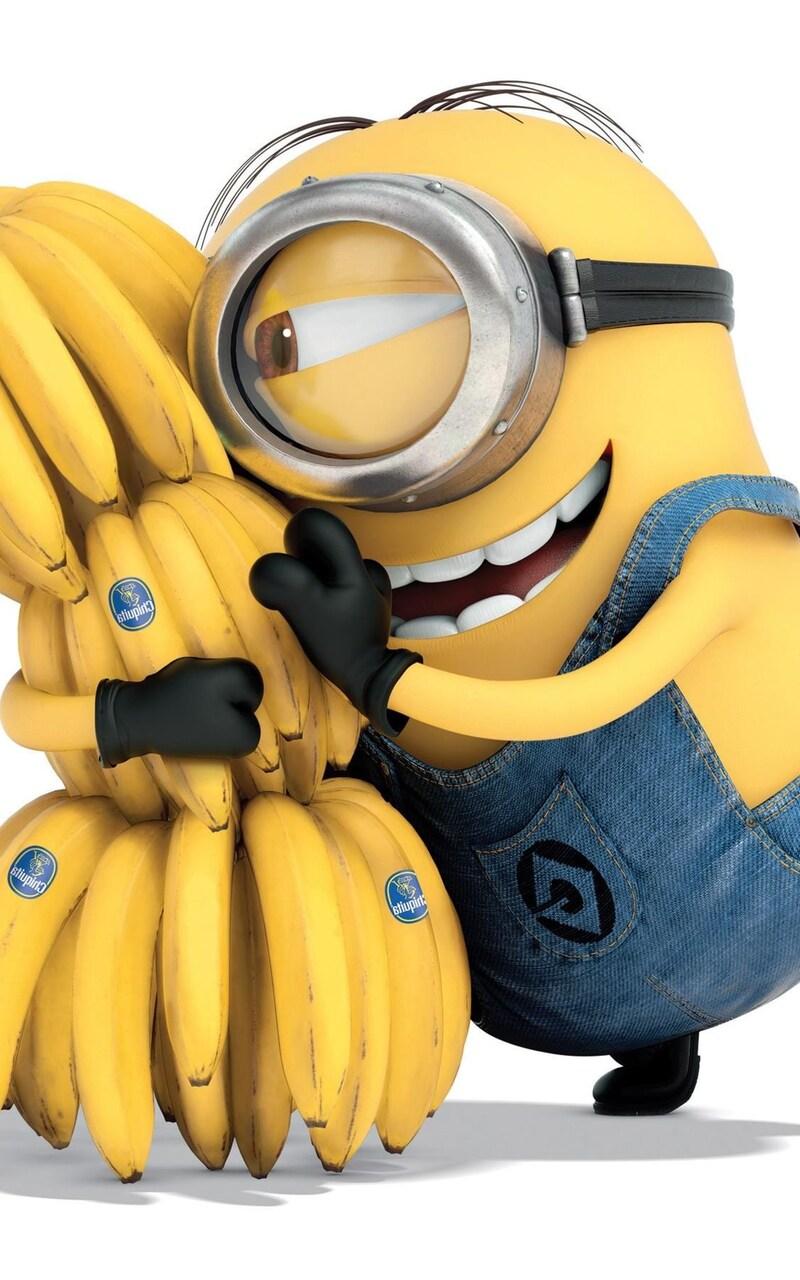 800x1280 Minion Bananas Nexus 7 Samsung Galaxy Tab 10 Note Android