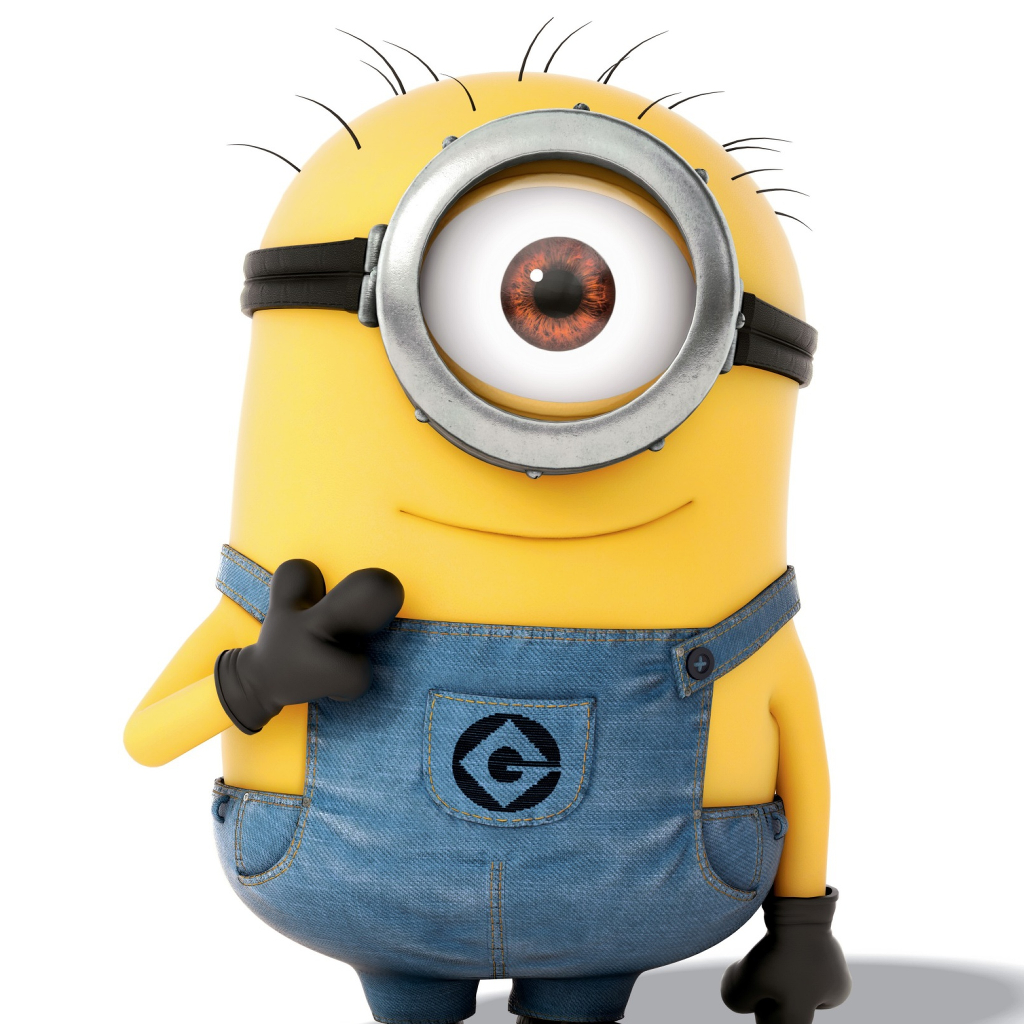 2048x2048 minions ipad air hd 4k wallpapers, images, backgrounds