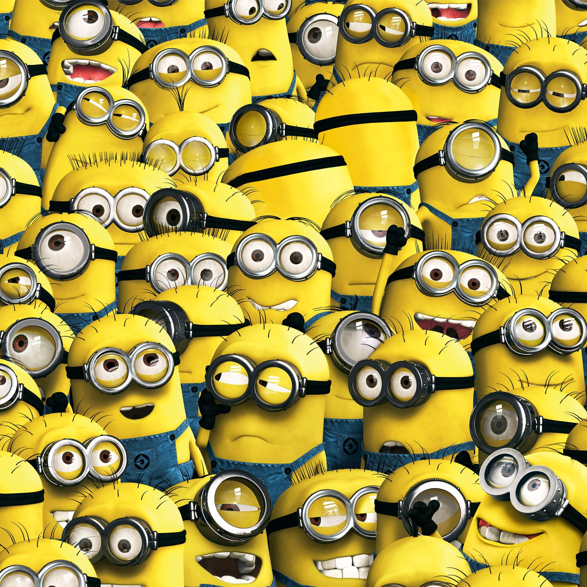 2048x2048 Minions 6 Ipad Air HD 4k Wallpapers, Images ...
