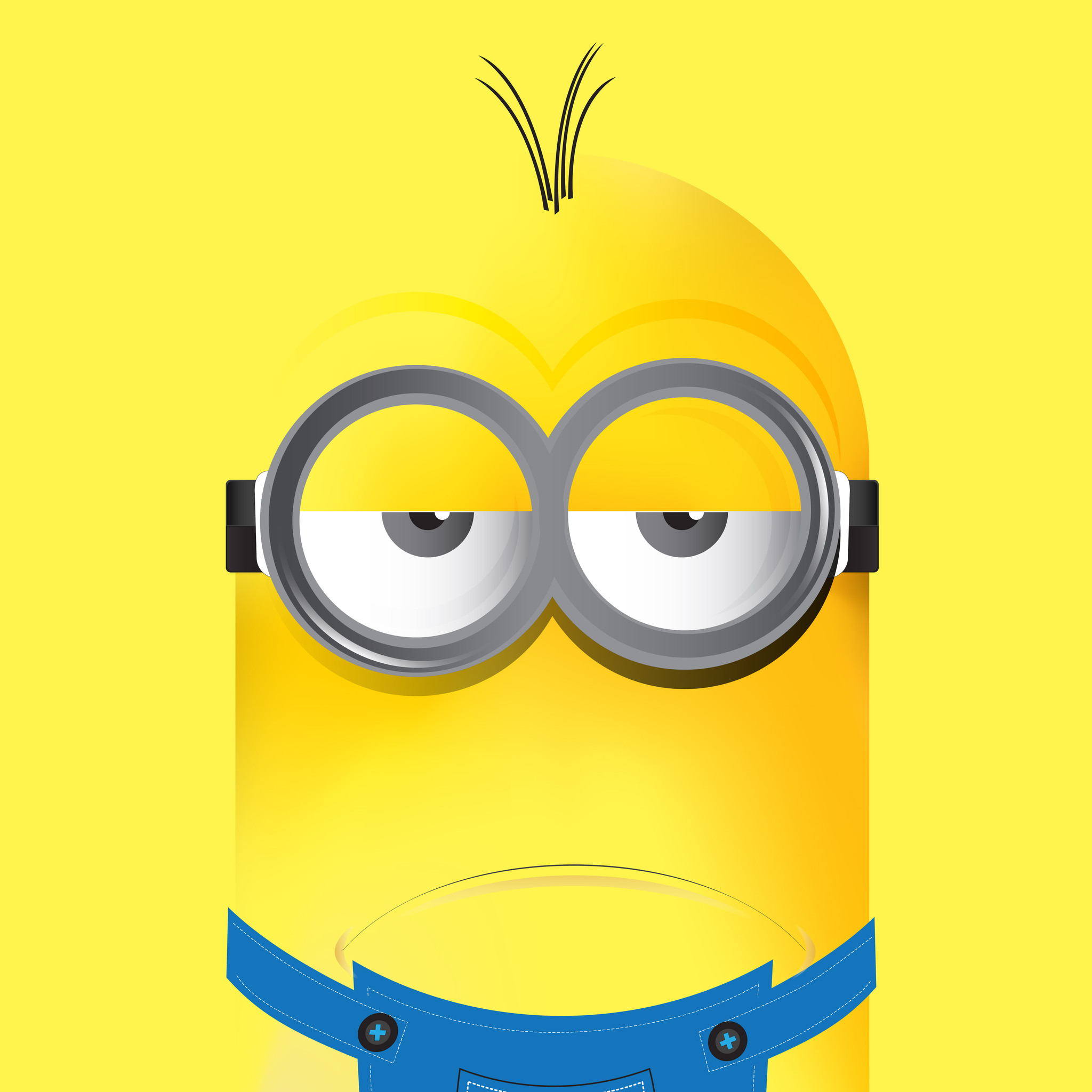 2048x2048 minions 8k background ipad air hd 4k wallpapers, images