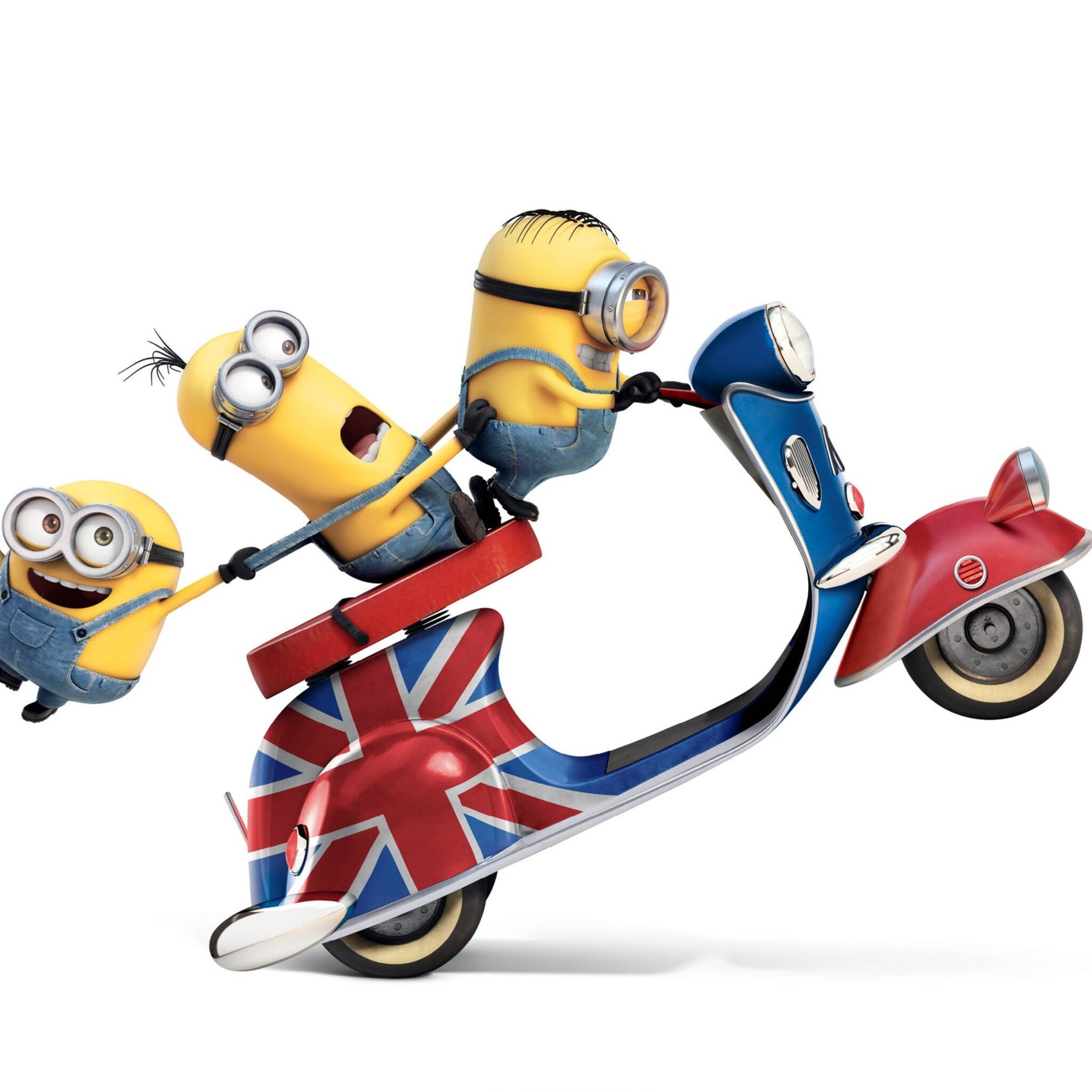 2048x2048 Minions Funny 3 Ipad Air HD 4k Wallpapers ...