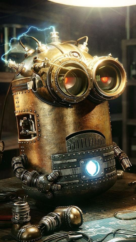 540x960 Minions Robot Steampunk 540x960 Resolution Hd 4k