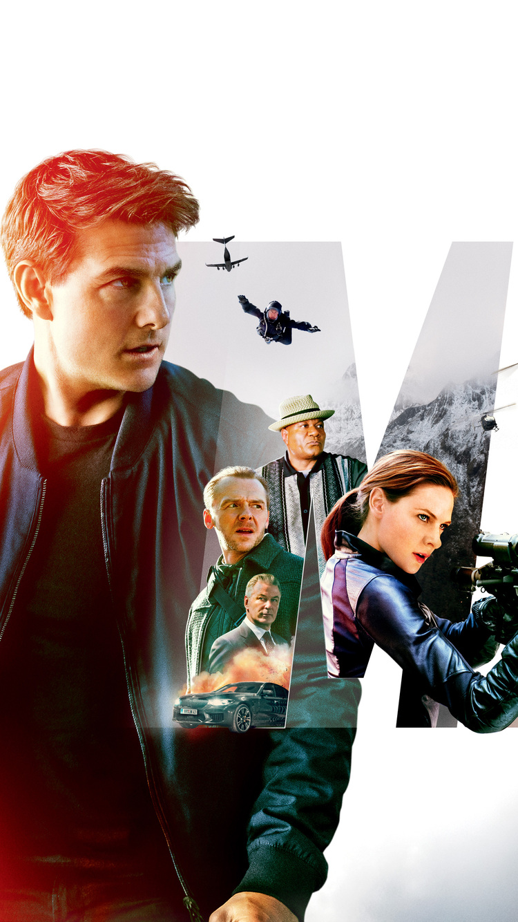 750x1334 Mission Impossible Fallout 12k Poster Iphone 6