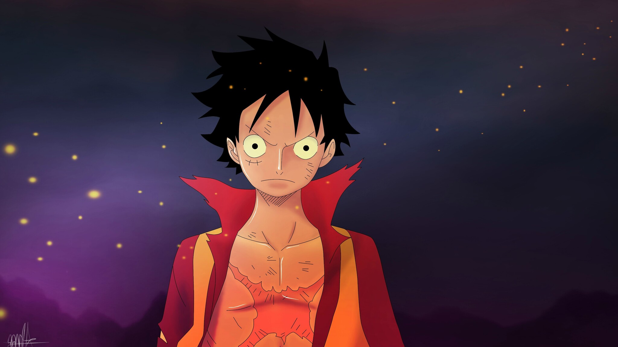 2048x1152 Monkey D Luffy One Piece 4k 2048x1152 Resolution