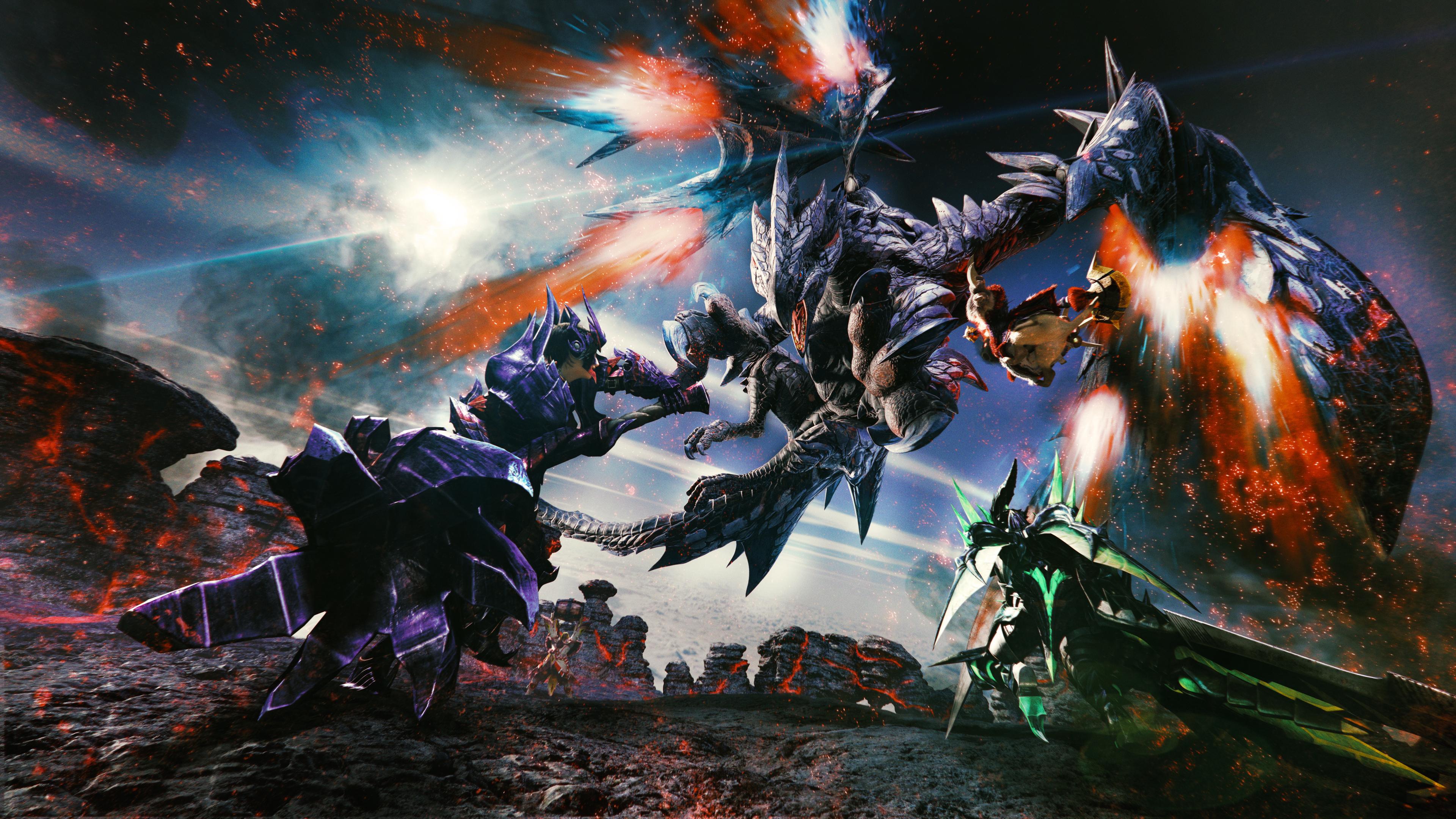 3840x2160 Monster Hunter Generations Valstrax Artwork 4k Hd
