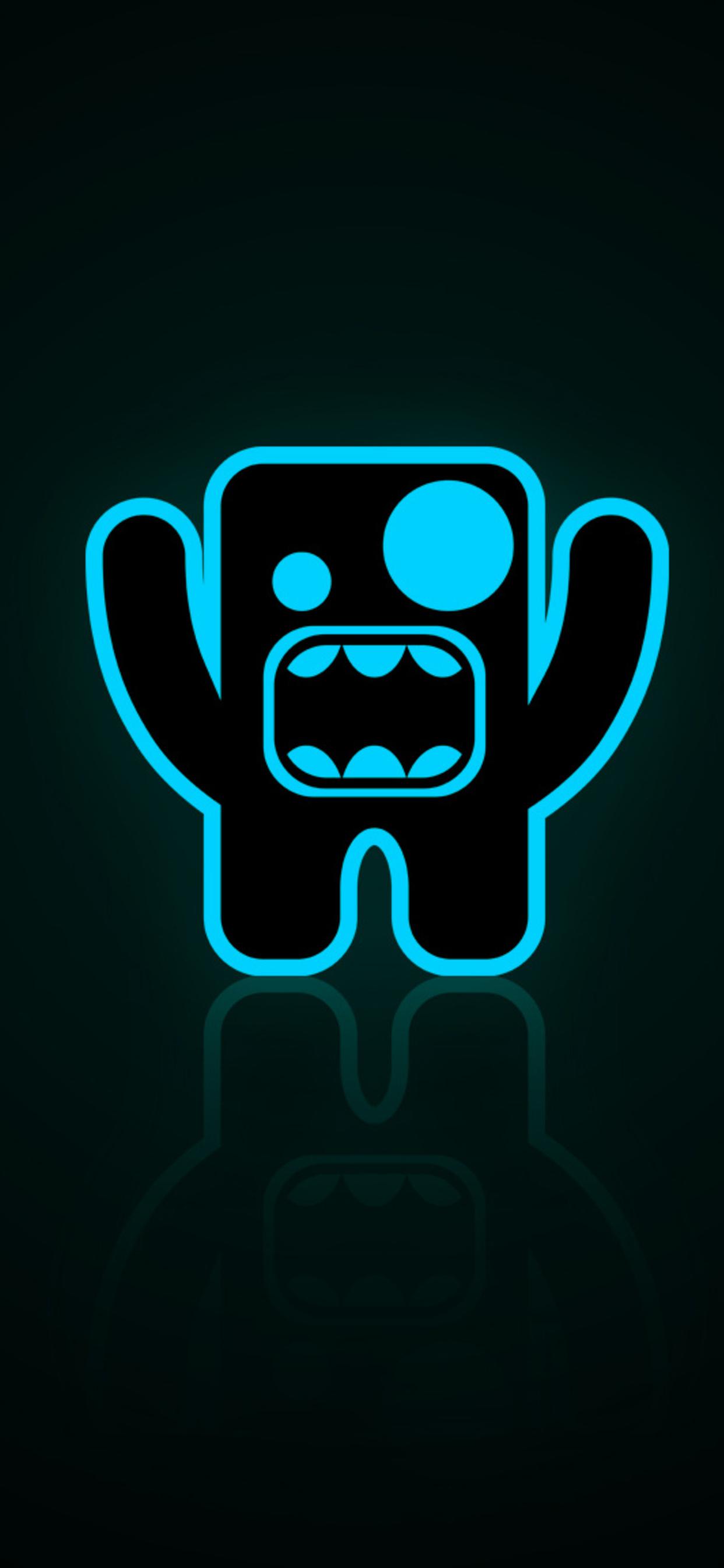 1242x2688 Monster Minimalist Dark Iphone XS MAX HD 4k ...