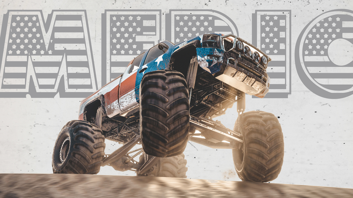 1366x768 Monster Truck The Crew 1366x768 Resolution Hd 4k Wallpapers Images Backgrounds Photos And Pictures