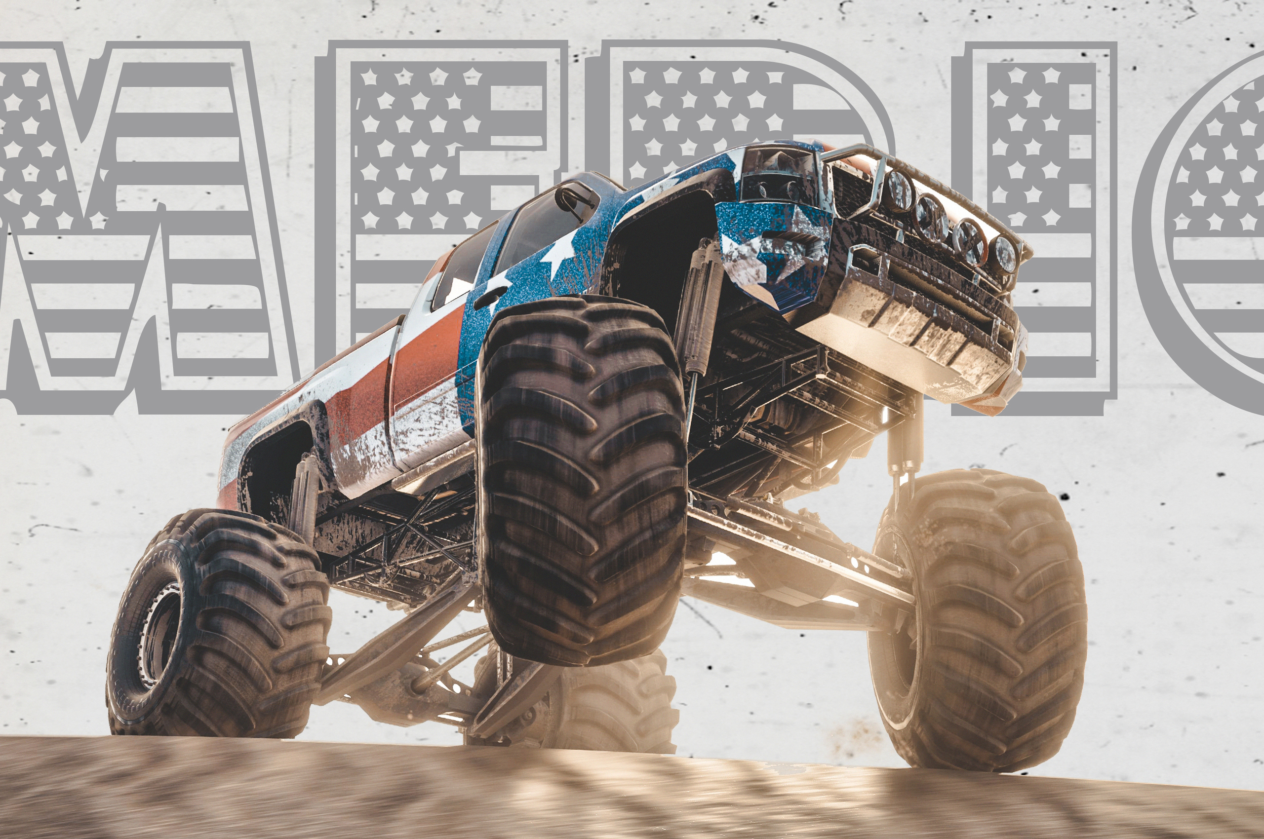 Monster Truck The Crew Chromebook Pixel