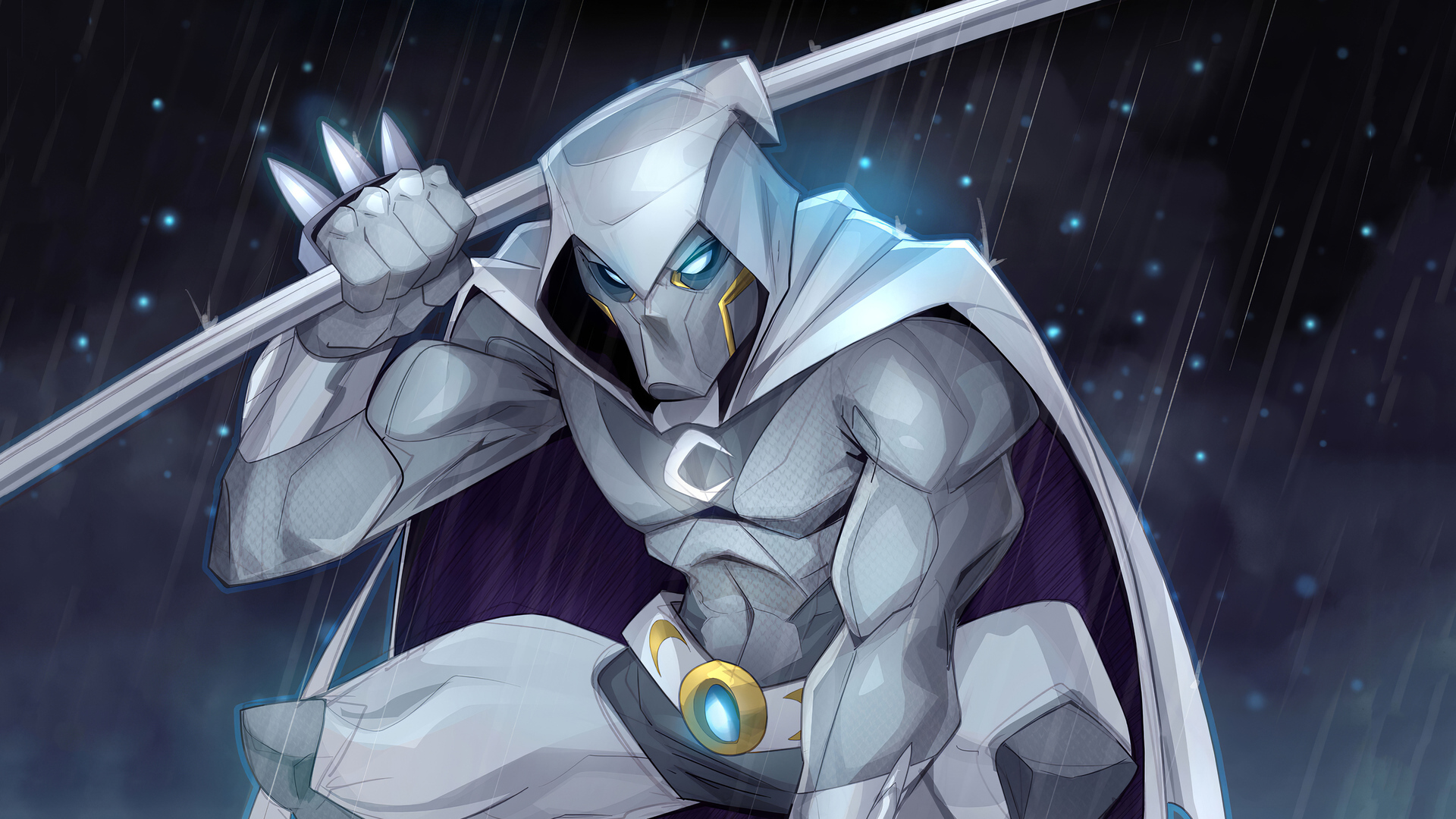 1920x1080 Moon Knight 4k 2020 Artwork Laptop Full HD 1080P HD 4k Wallpapers, Images, Backgrounds, Photos and Pictures