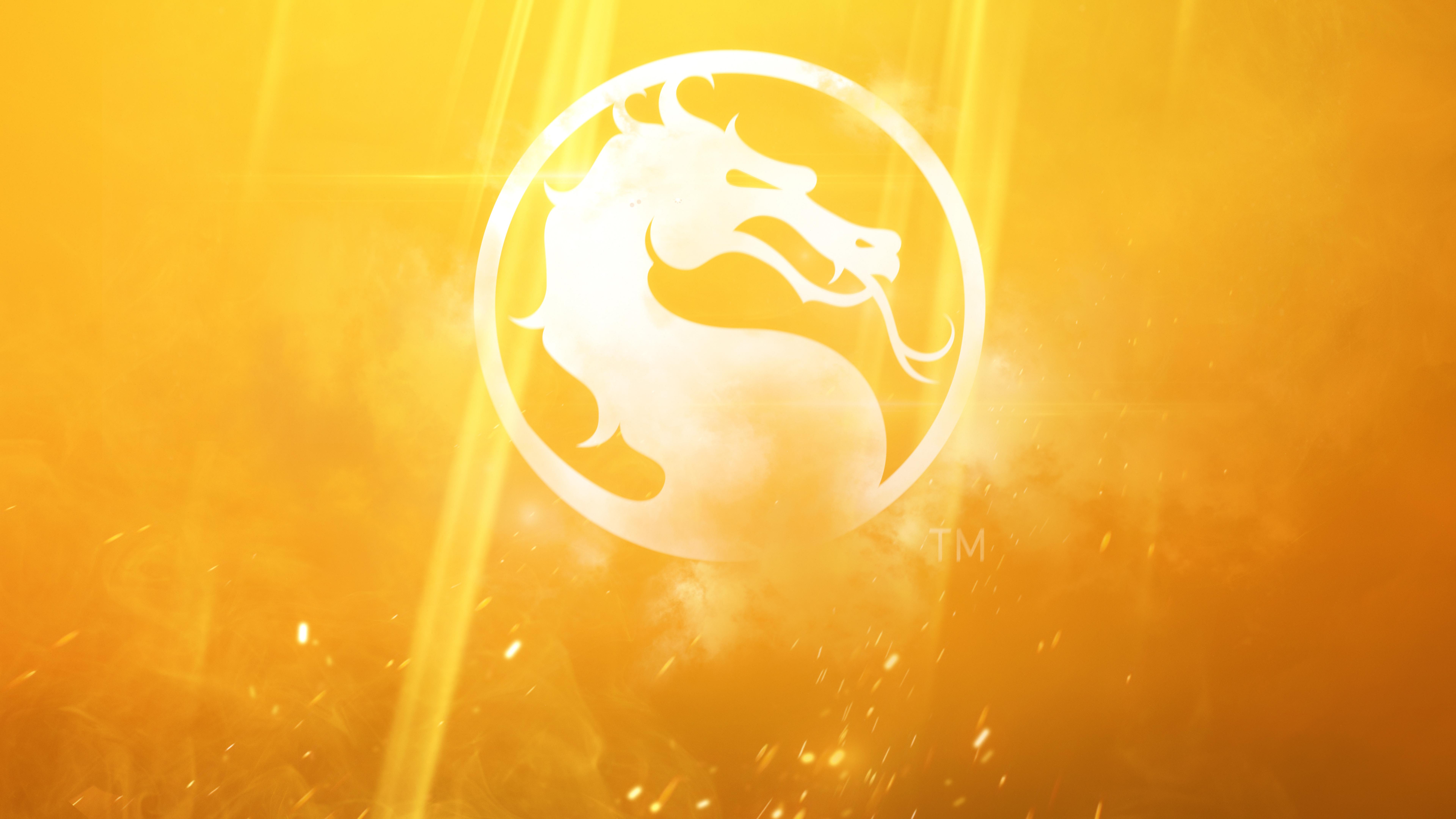 7680x4320 Mortal Kombat 11 Logo 8k Hd 4k Wallpapers Images