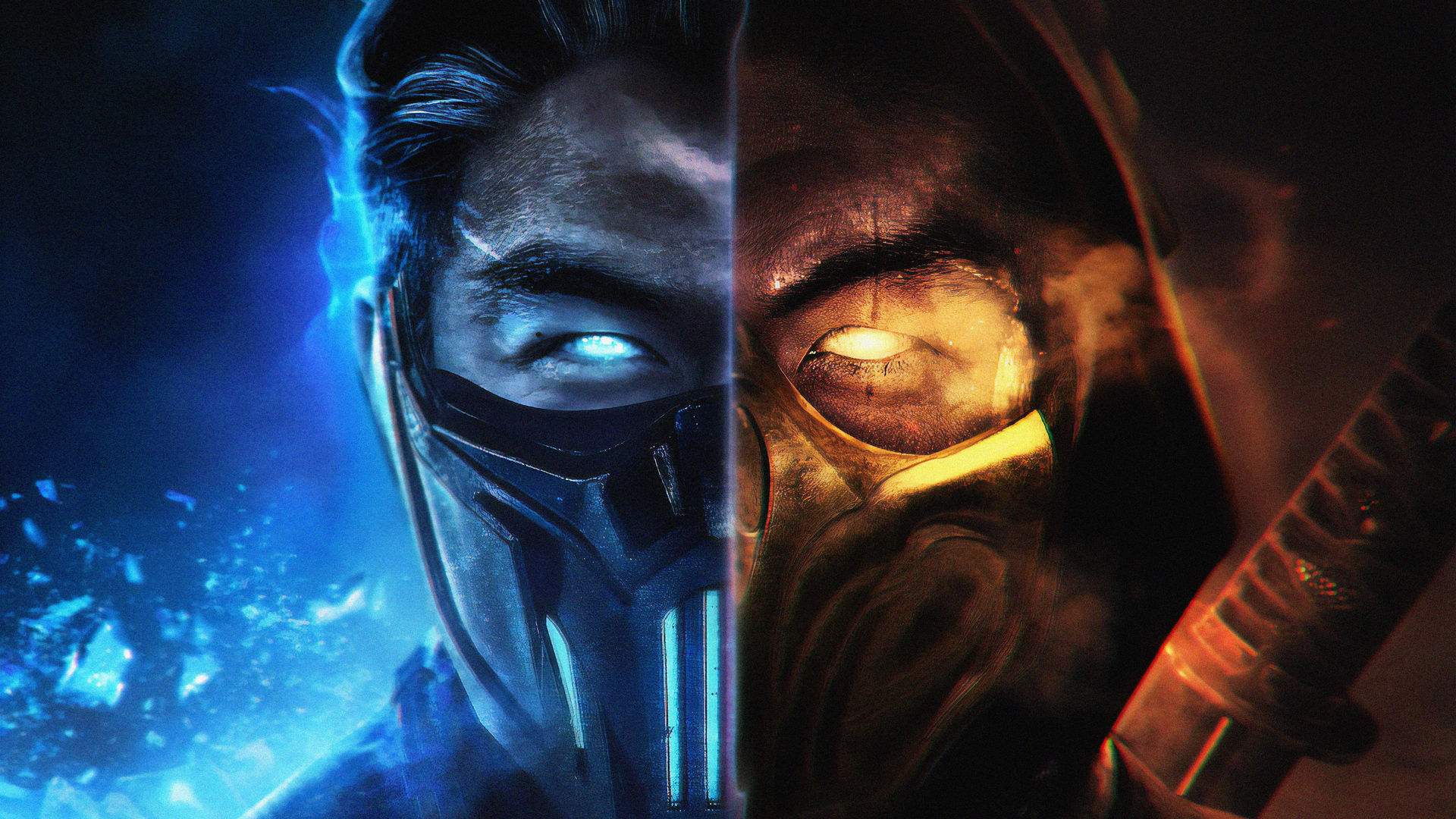 1920x1080 Mortal Kombat Subzero And Scorpion Laptop Full Hd 1080p Hd 4k Wallpapers Images Backgrounds Photos And Pictures