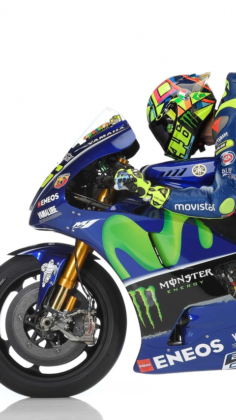 480x854 Motogp Valentino Rossi Yamaha Yzr M1 Android One Hd 4k Wallpapers Images Backgrounds Photos And Pictures