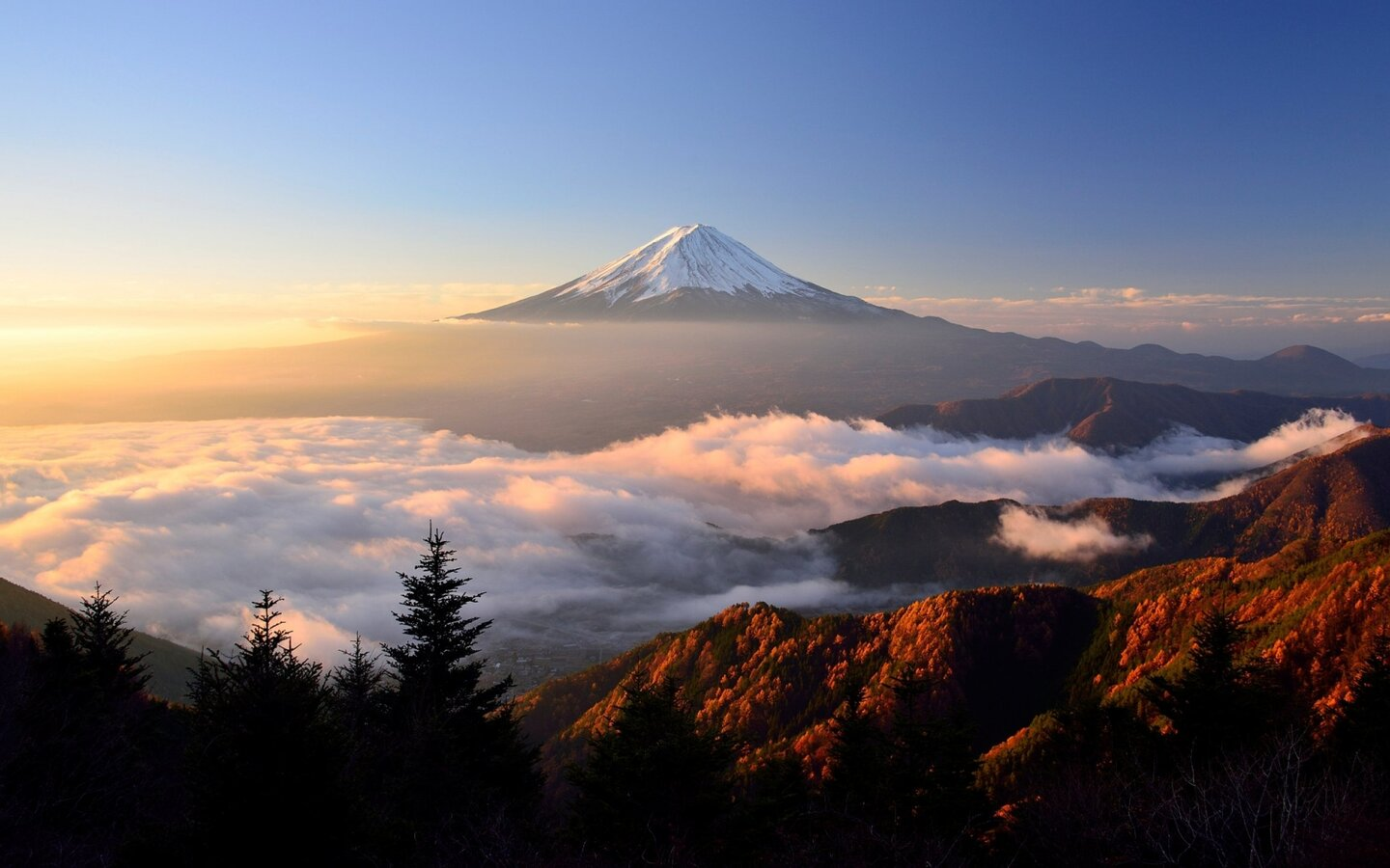 1440x900 Mount Fuji Hd 1440x900 Resolution Hd 4k Wallpapers