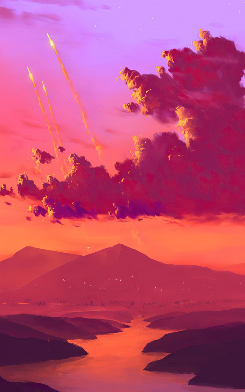 mountain-lights-lake-minimal-4k-ae.jpg