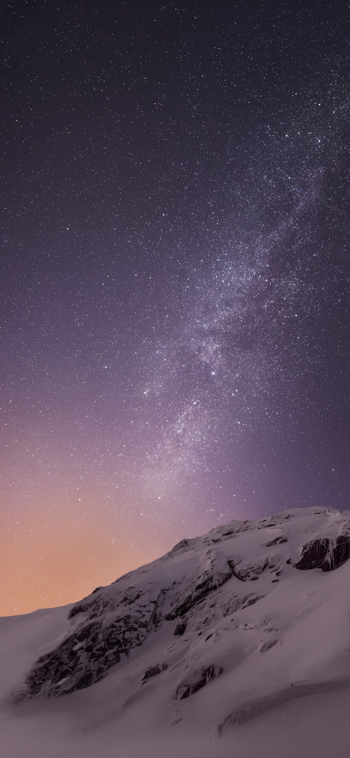 1125x2436 Mountains And Stars Iphone Xs Iphone 10 Iphone X