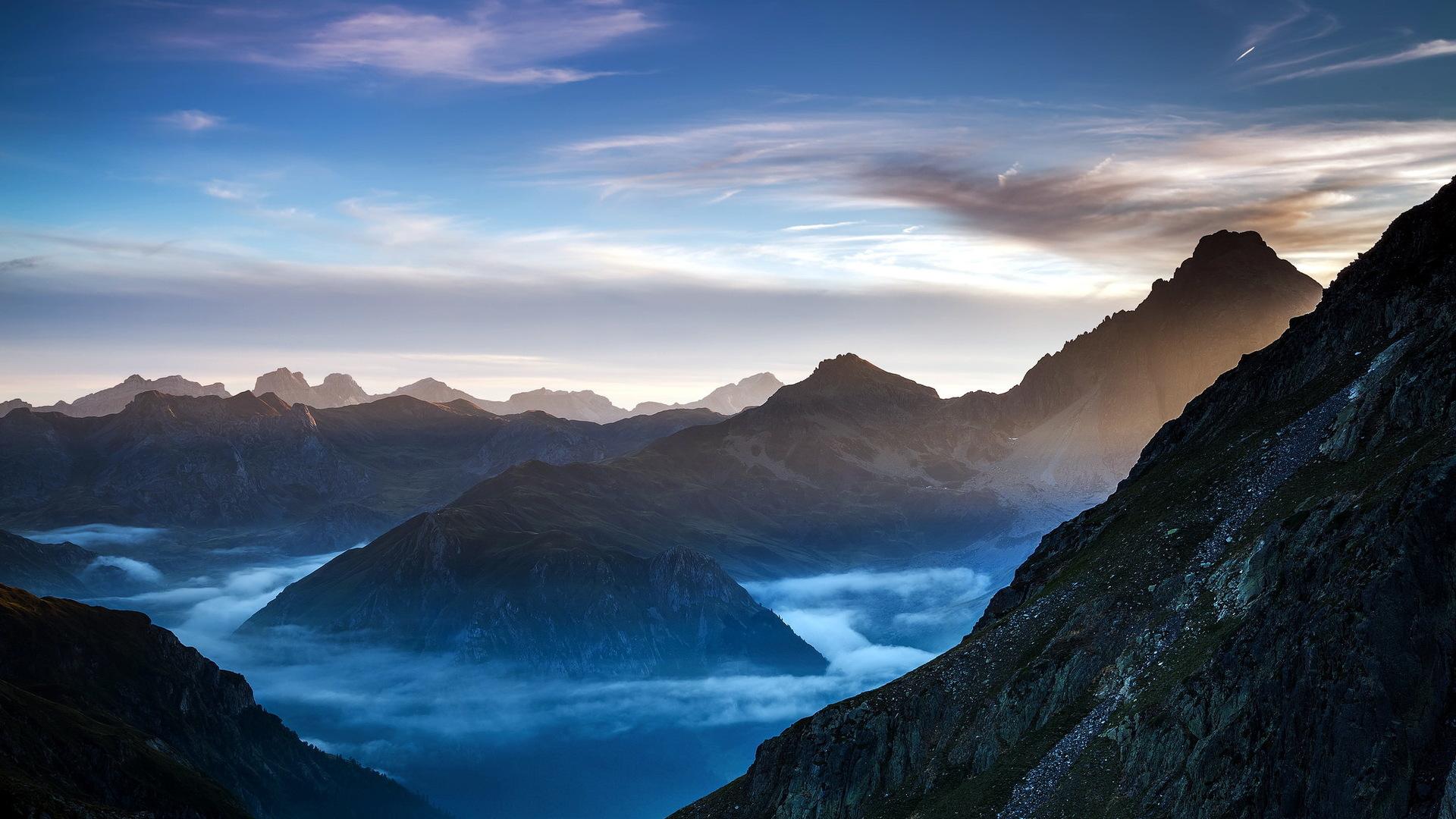 1920x1080 Mountains HD Laptop Full HD 1080P HD 4k ...